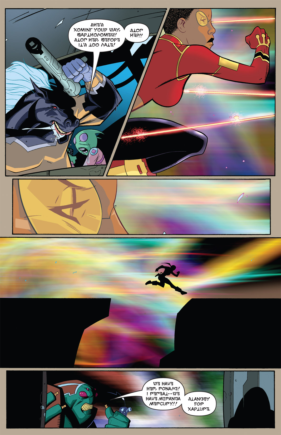 Read online The Many Adventures of Miranda Mercury: Time Runs Out comic -  Issue # TPB - 19