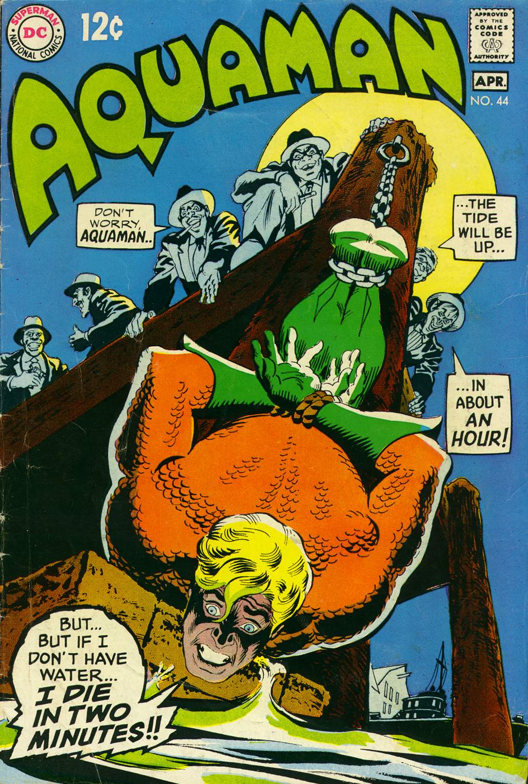 Read online Aquaman (1962) comic -  Issue #44 - 1