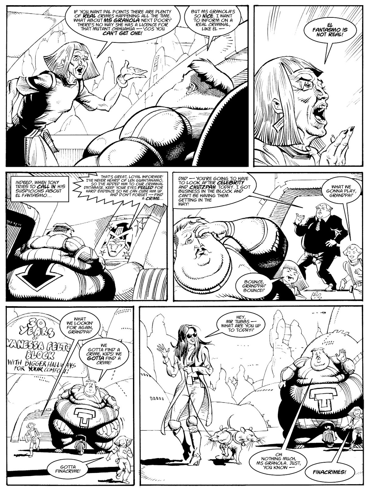 Judge Dredd Megazine (Vol. 5) issue 427 - Page 123