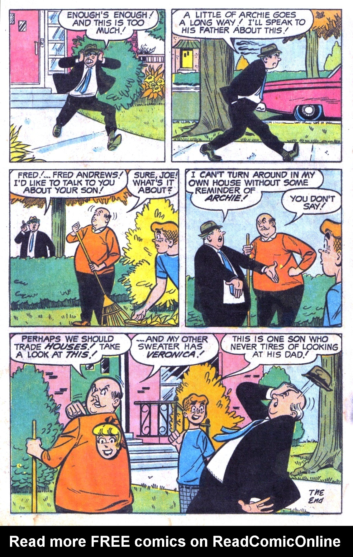 Read online Archie (1960) comic -  Issue #186 - 24