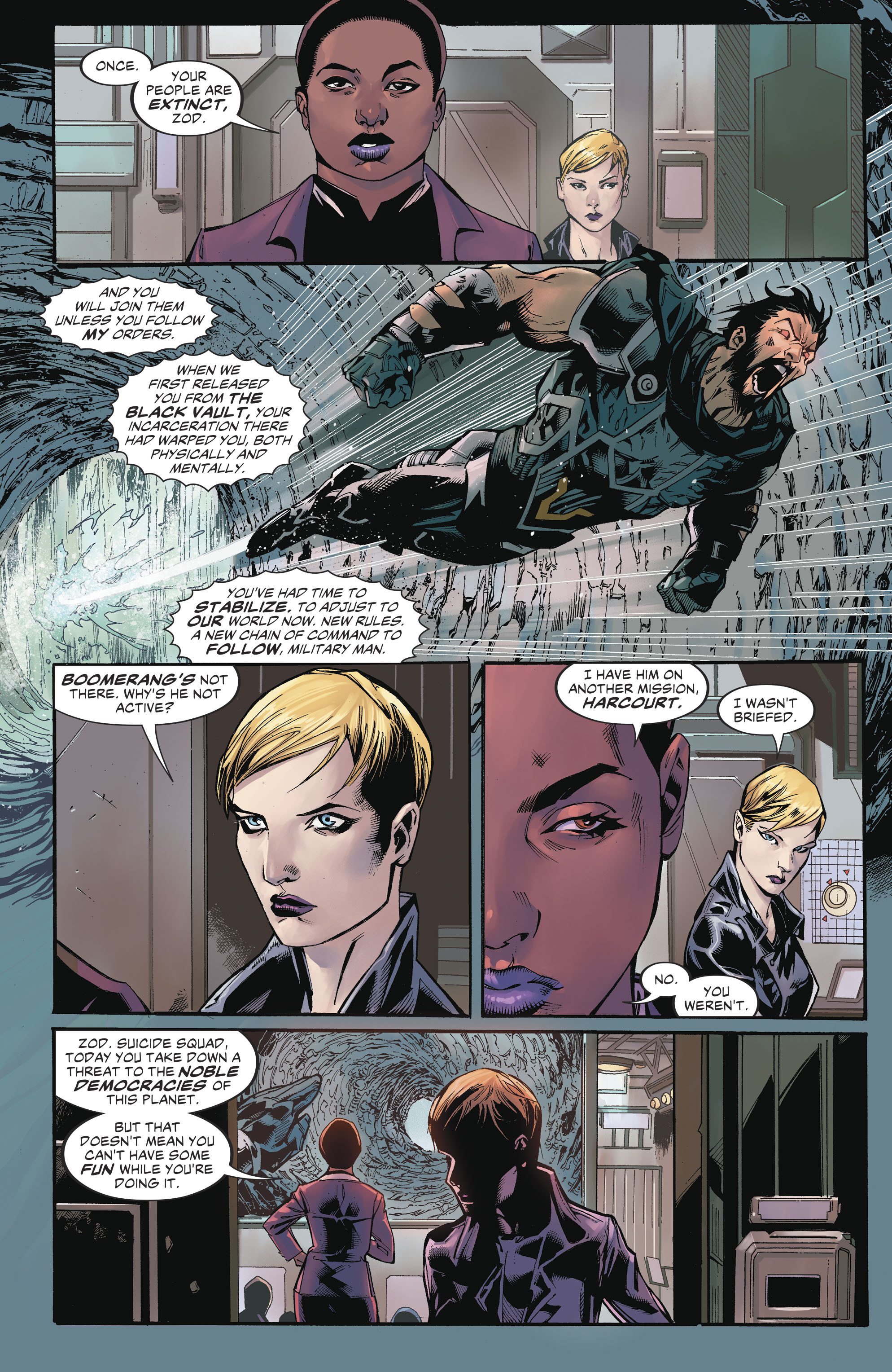 Read online Suicide Squad (2016) comic -  Issue #17 - 6