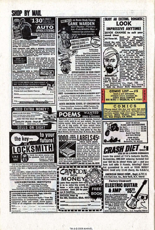 Read online Uncanny X-Men (1963) comic -  Issue #81 - 22