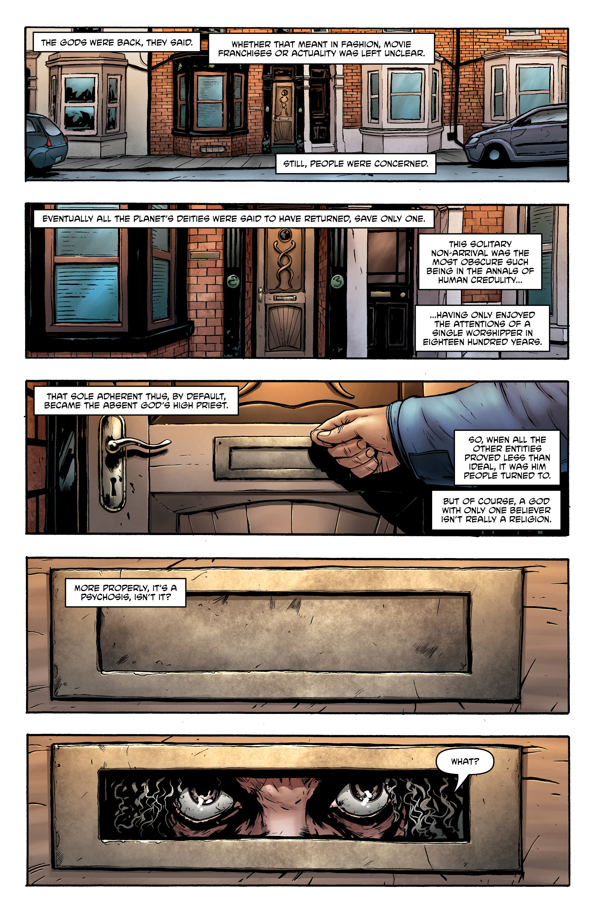 Read online God is Dead: Book of Acts comic -  Issue # Alpha - 27
