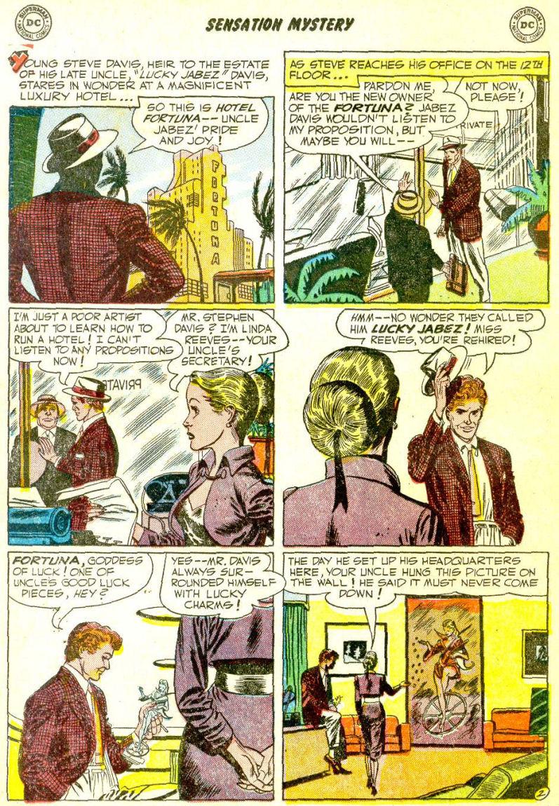 Read online Sensation (Mystery) Comics comic -  Issue #111 - 16