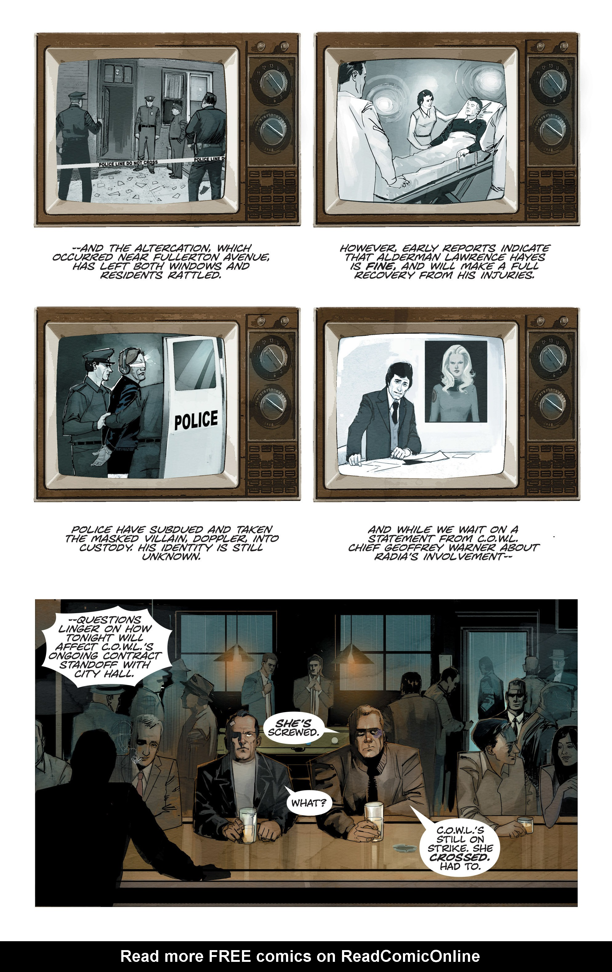 Read online C.O.W.L. comic -  Issue #10 - 3