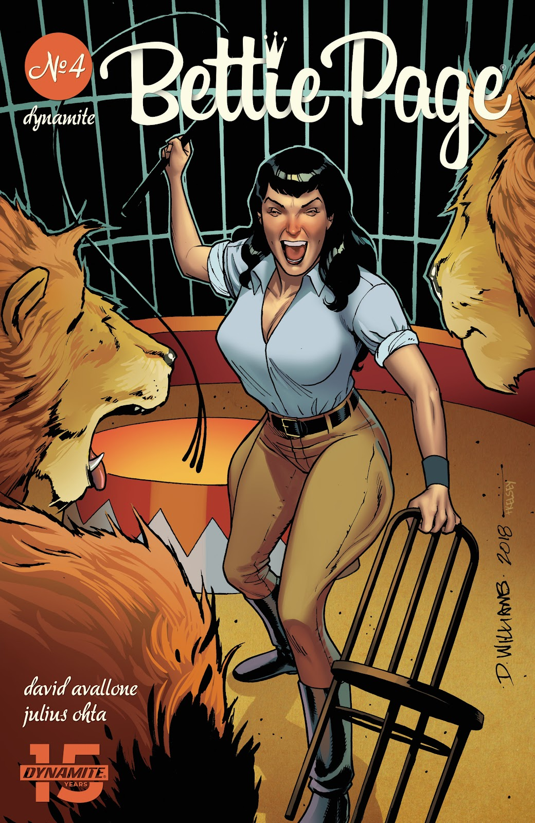 Read online Bettie Page (2018) comic -  Issue #4 - 3