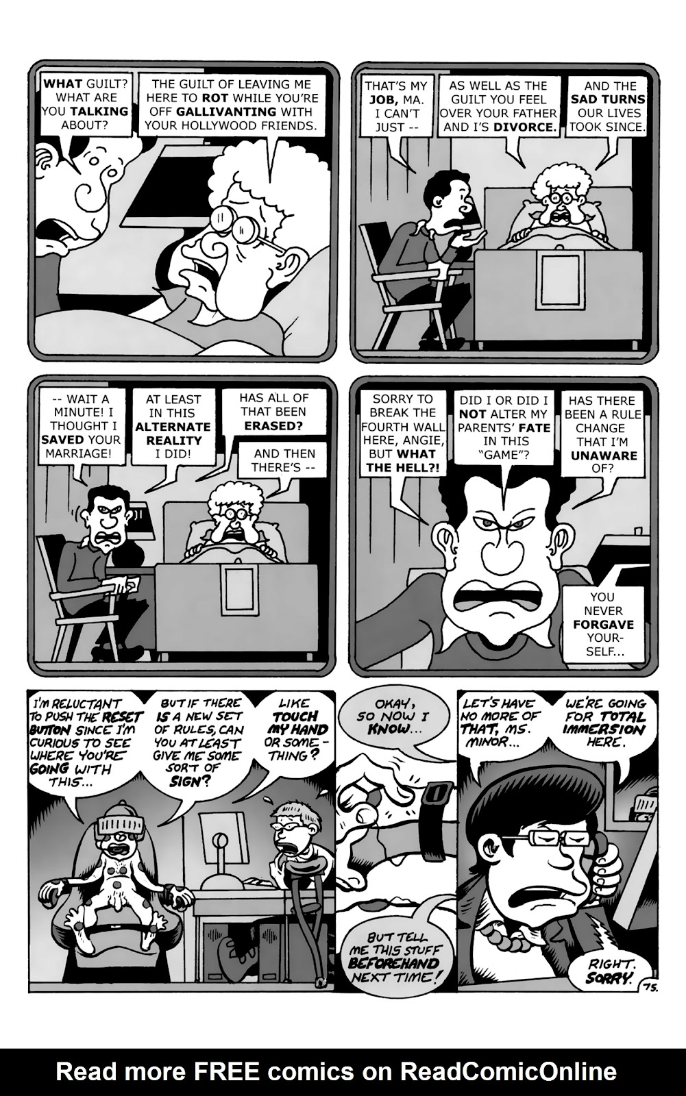 Read online Reset comic -  Issue #4 - 11