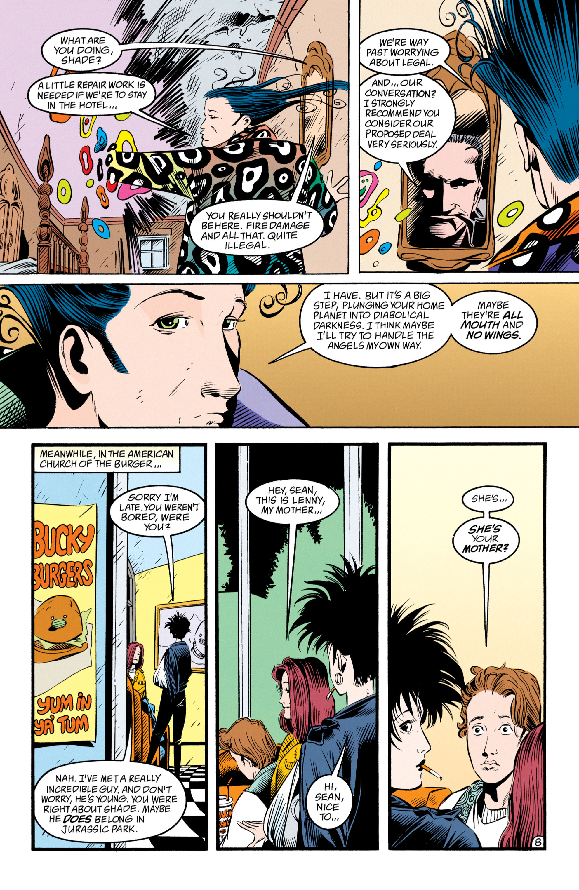 Read online Shade, the Changing Man comic -  Issue #50 - 9