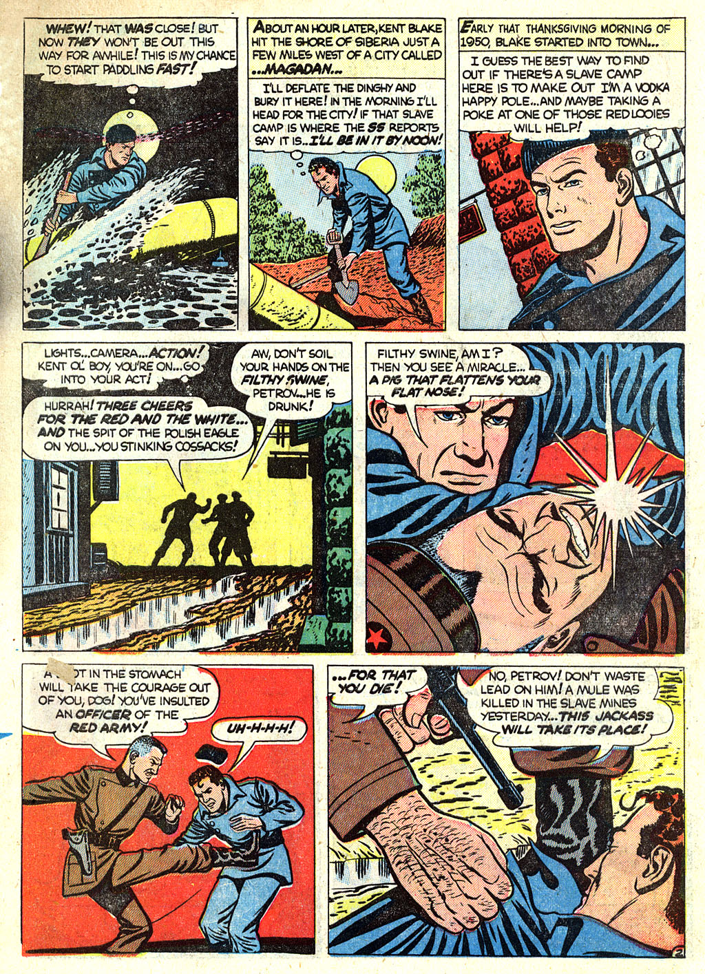 Kent Blake of the Secret Service issue 1 - Page 13