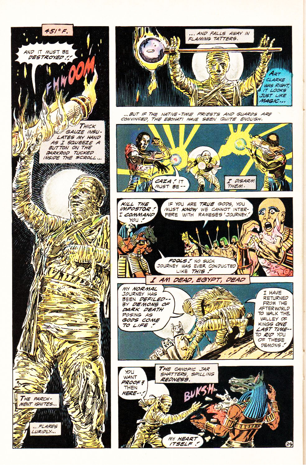 Read online Aztec Ace comic -  Issue #4 - 22
