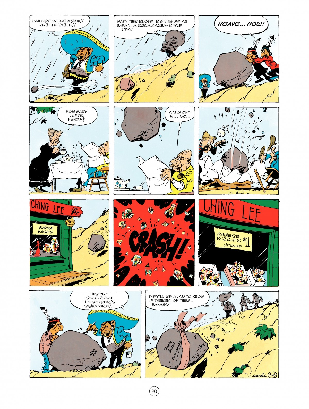 Read online A Lucky Luke Adventure comic -  Issue #43 - 20