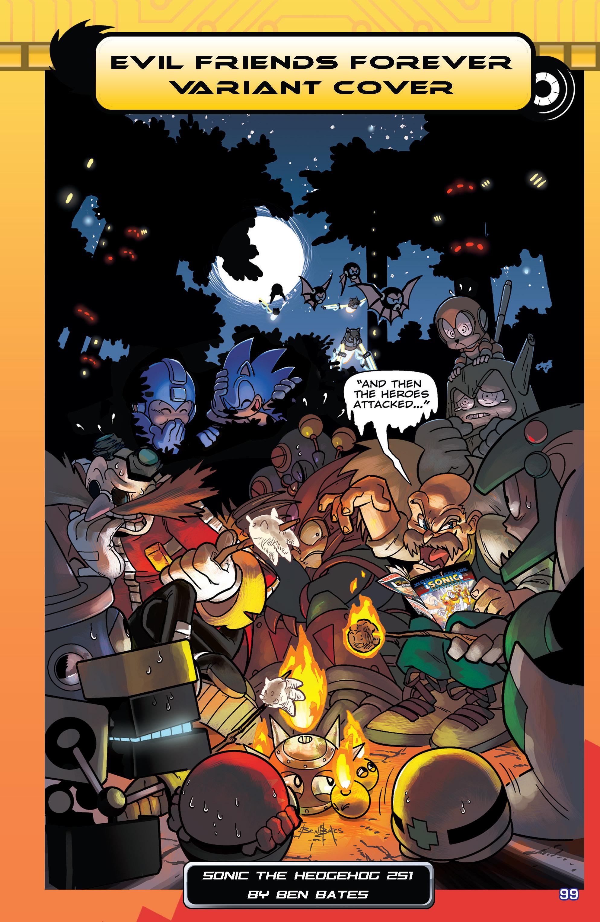 Read online Sonic Mega Man Worlds Collide comic -  Issue # Vol 3 - 118