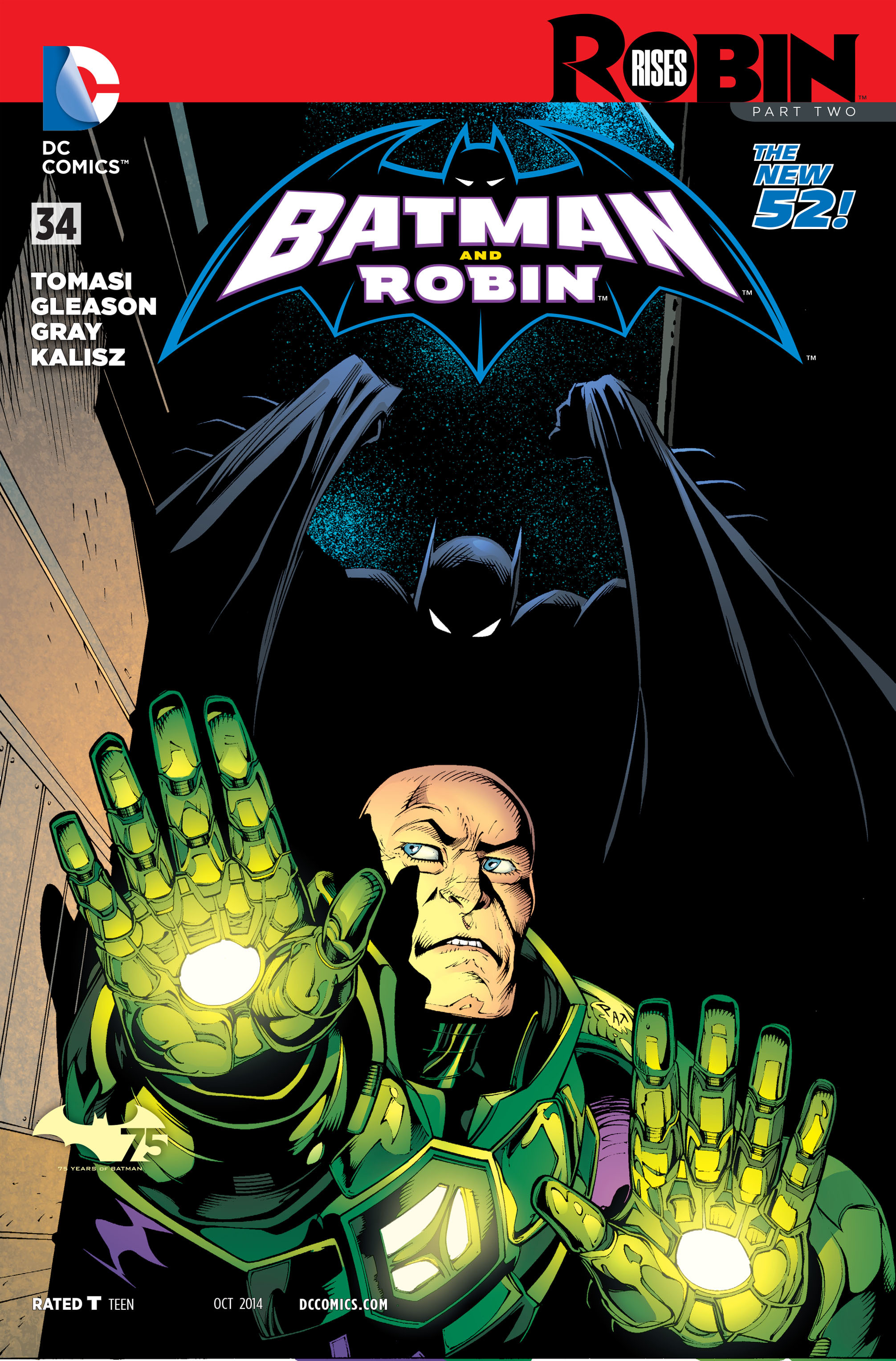 Read online Batman and Robin (2011) comic -  Issue #34 - 1