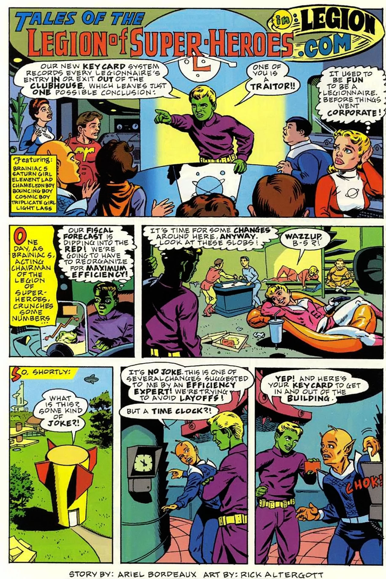 Read online Bizarro World comic -  Issue # TPB - 127