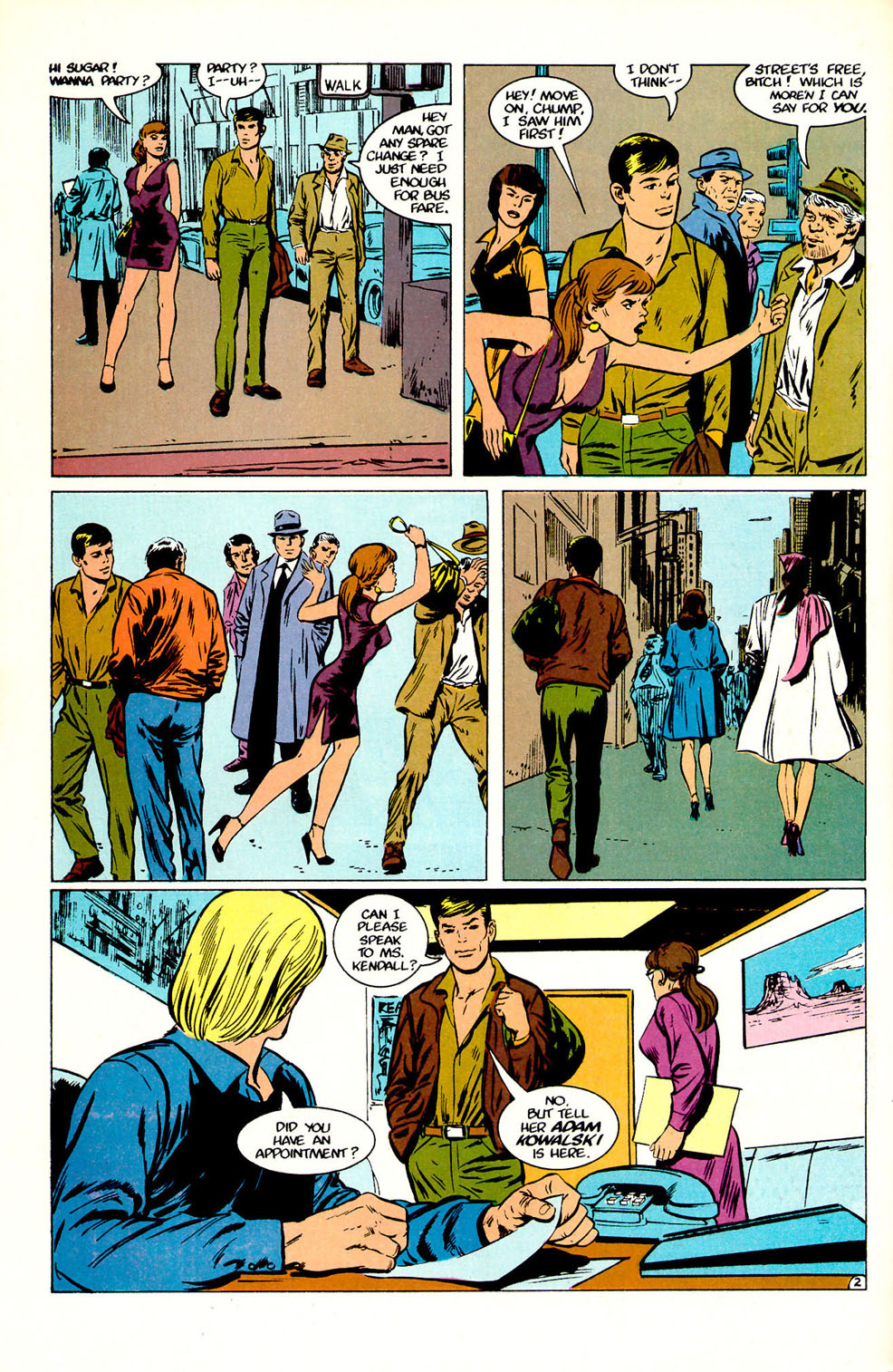 Jon Sable, Freelance issue 51 - Page 4