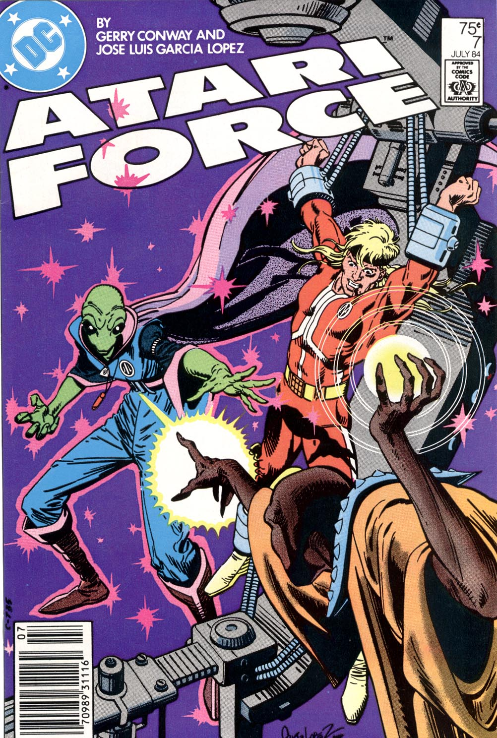 Read online Atari Force (1984) comic -  Issue #7 - 1