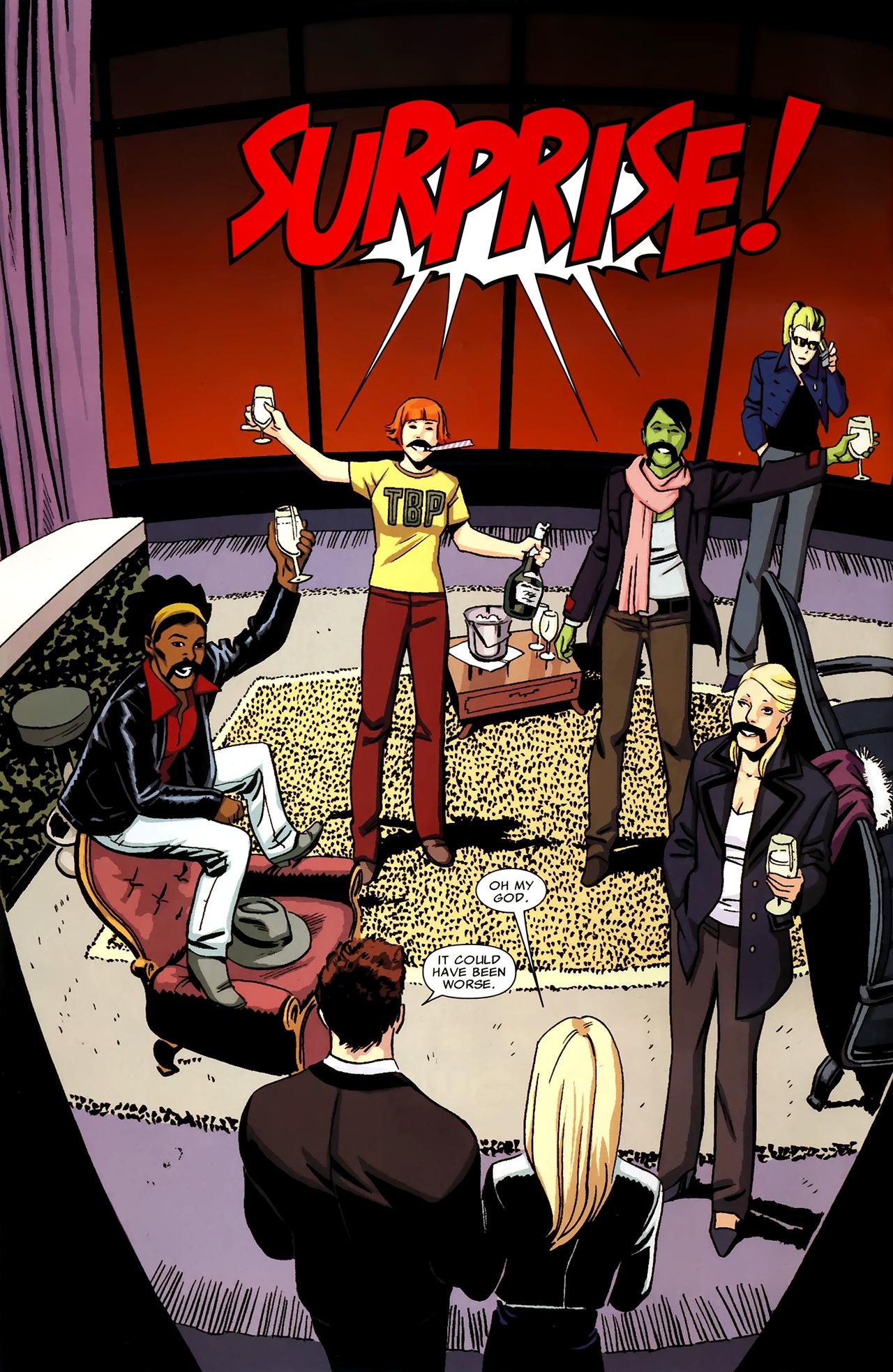 Read online Heralds comic -  Issue #1 - 9