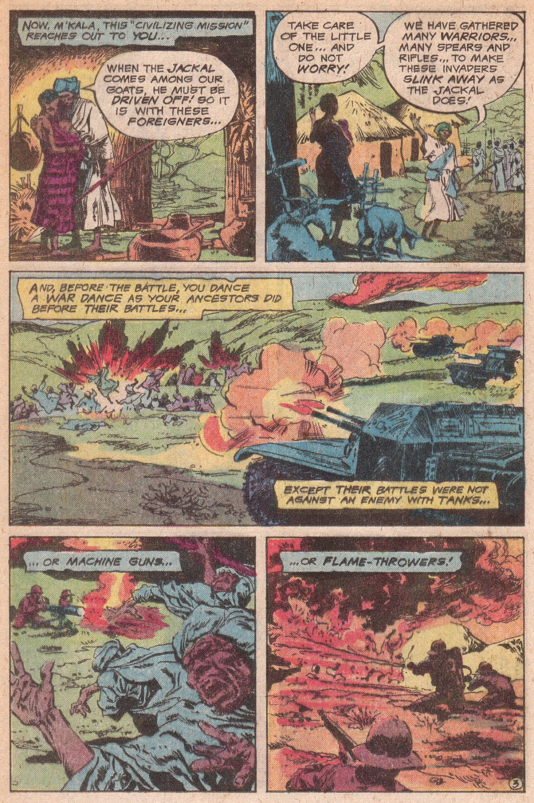 Read online All-Out War comic -  Issue #5 - 21