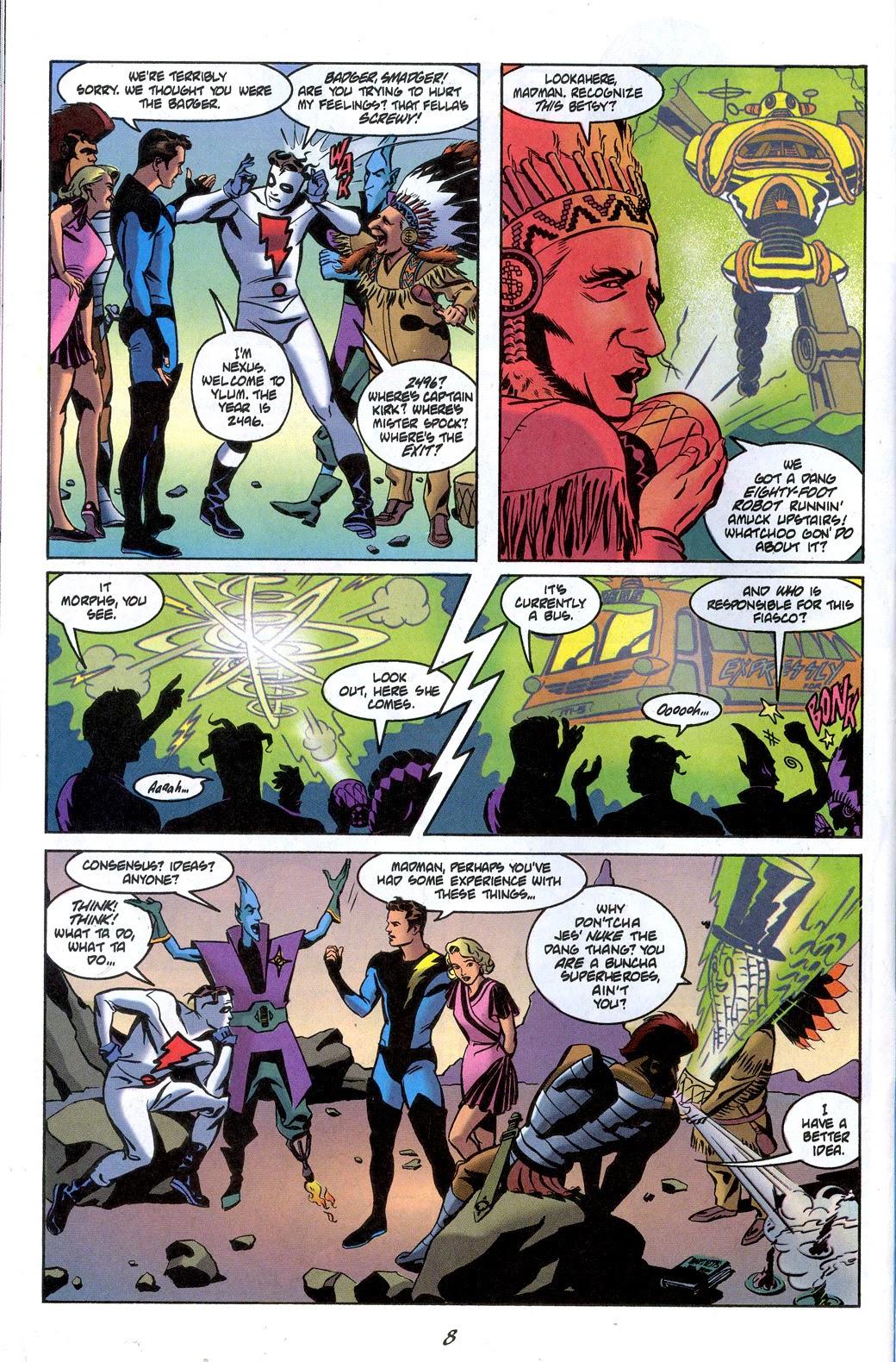 Read online Nexus Meets Madman comic -  Issue # Full - 10