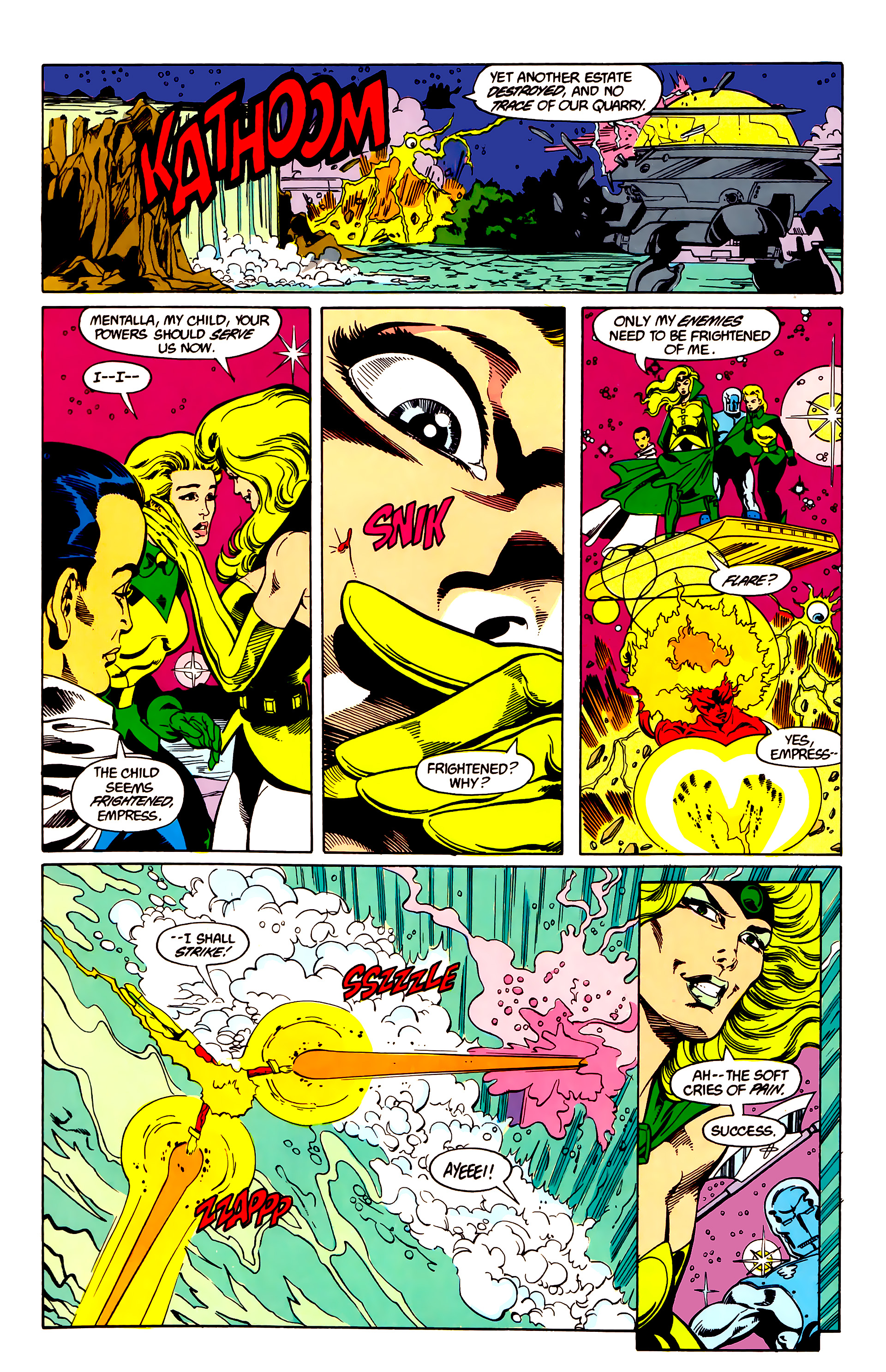 Legion of Super-Heroes (1984) 26 Page 16