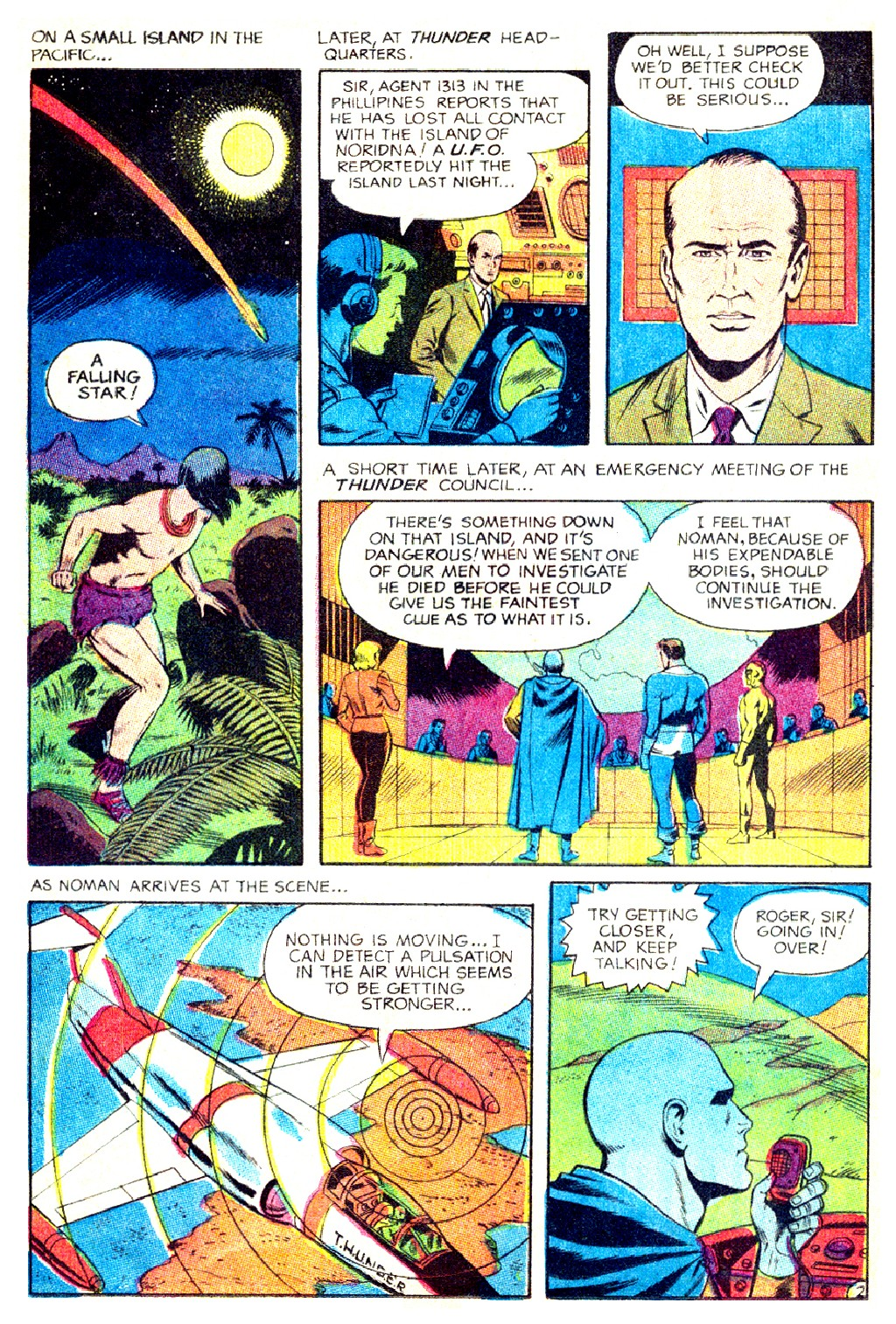 T.H.U.N.D.E.R. Agents (1965) issue 9 - Page 44