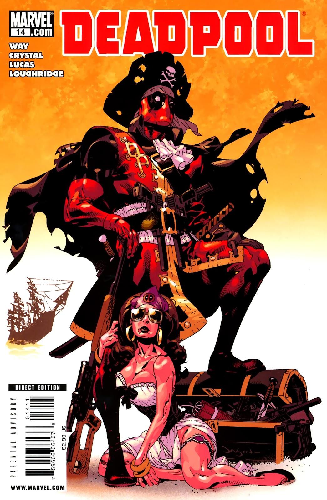 Read online Deadpool (2008) comic -  Issue #14 - 1