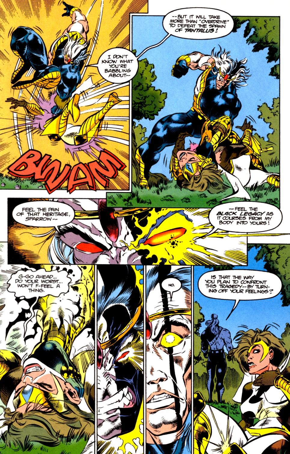 Read online Blackwulf comic -  Issue #6 - 10