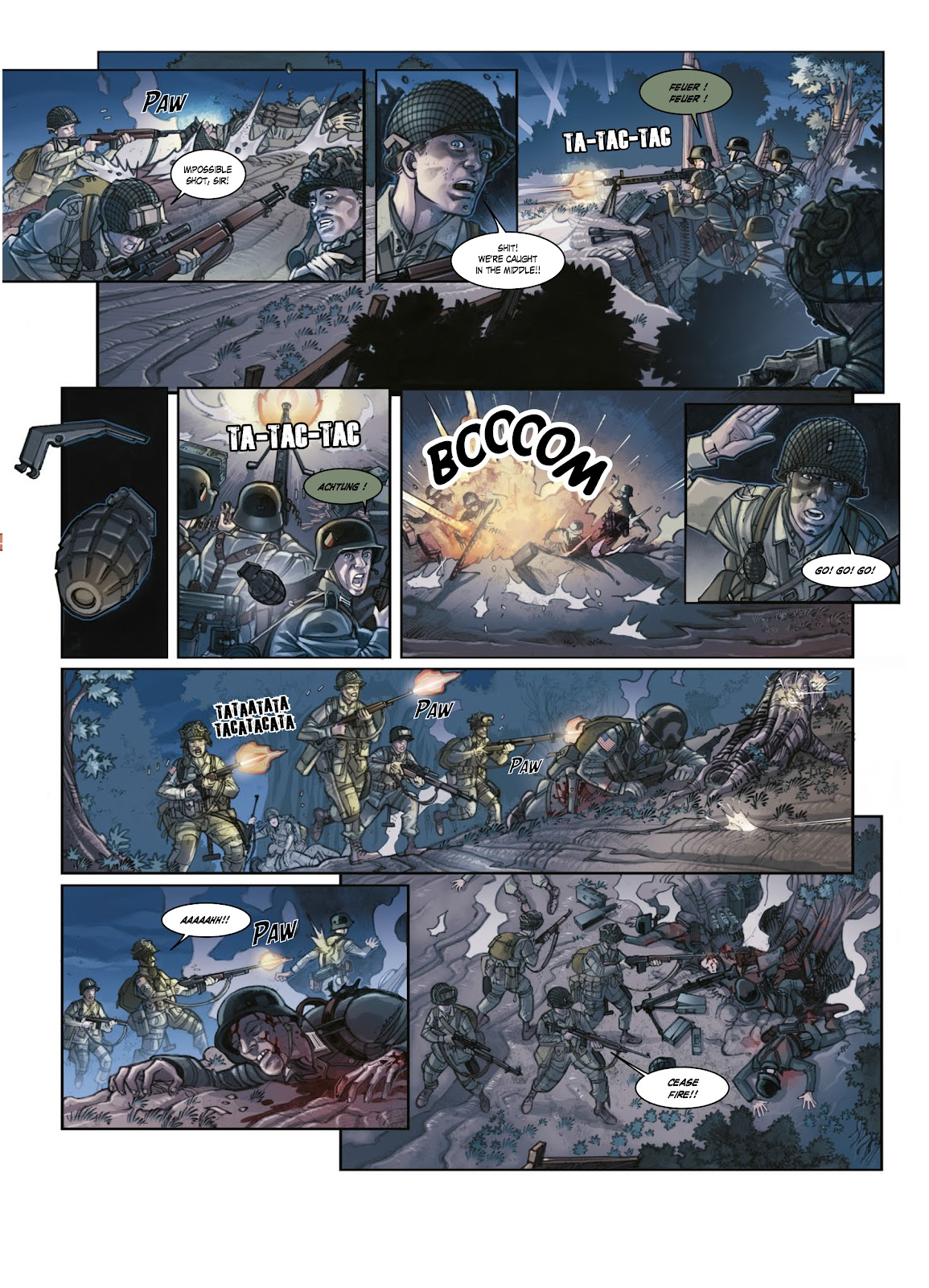 Read online Opération Overlord comic -  Issue #1 - 20