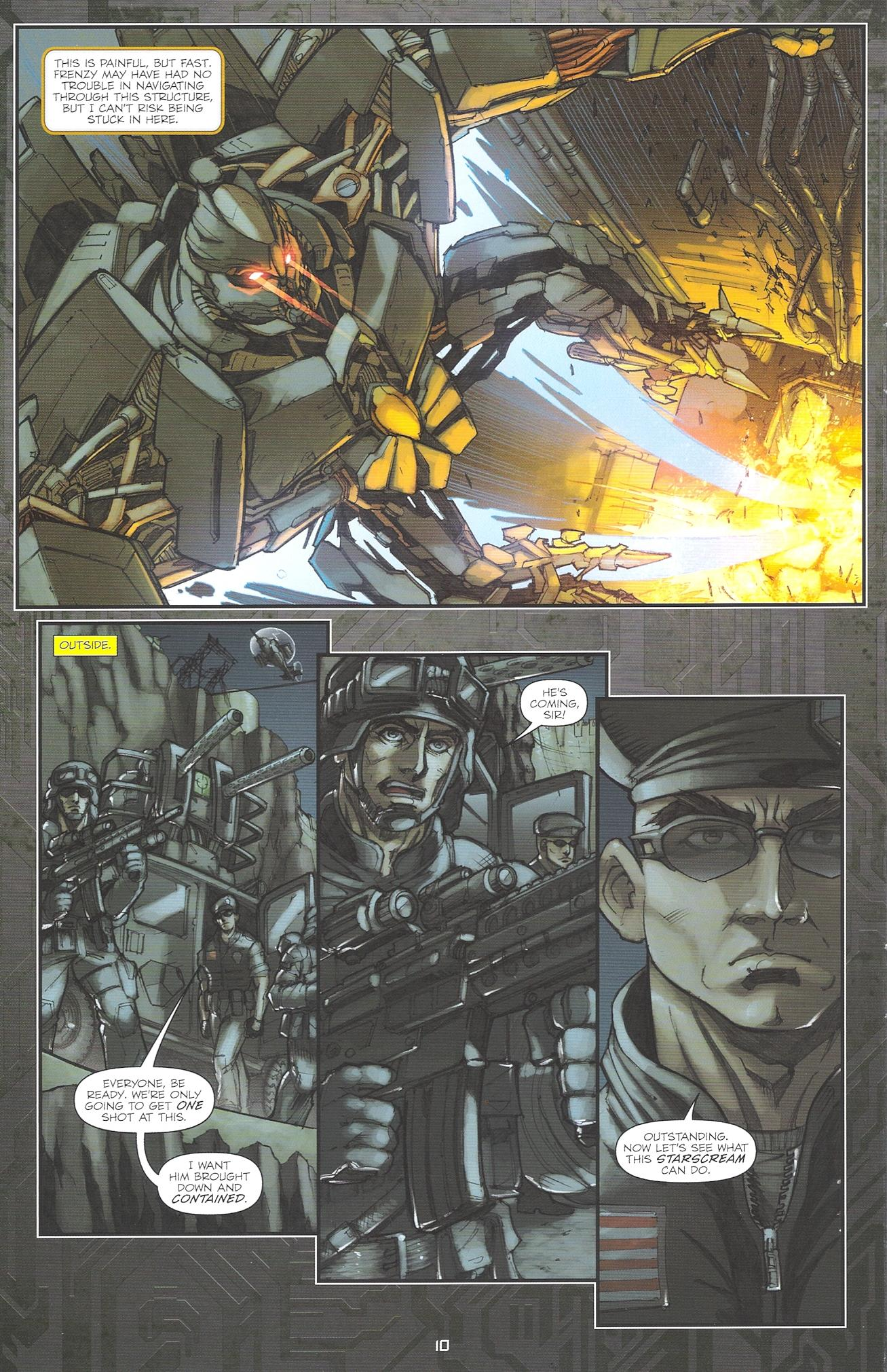 Read online Transformers: The Reign of Starscream comic -  Issue #2 - 12