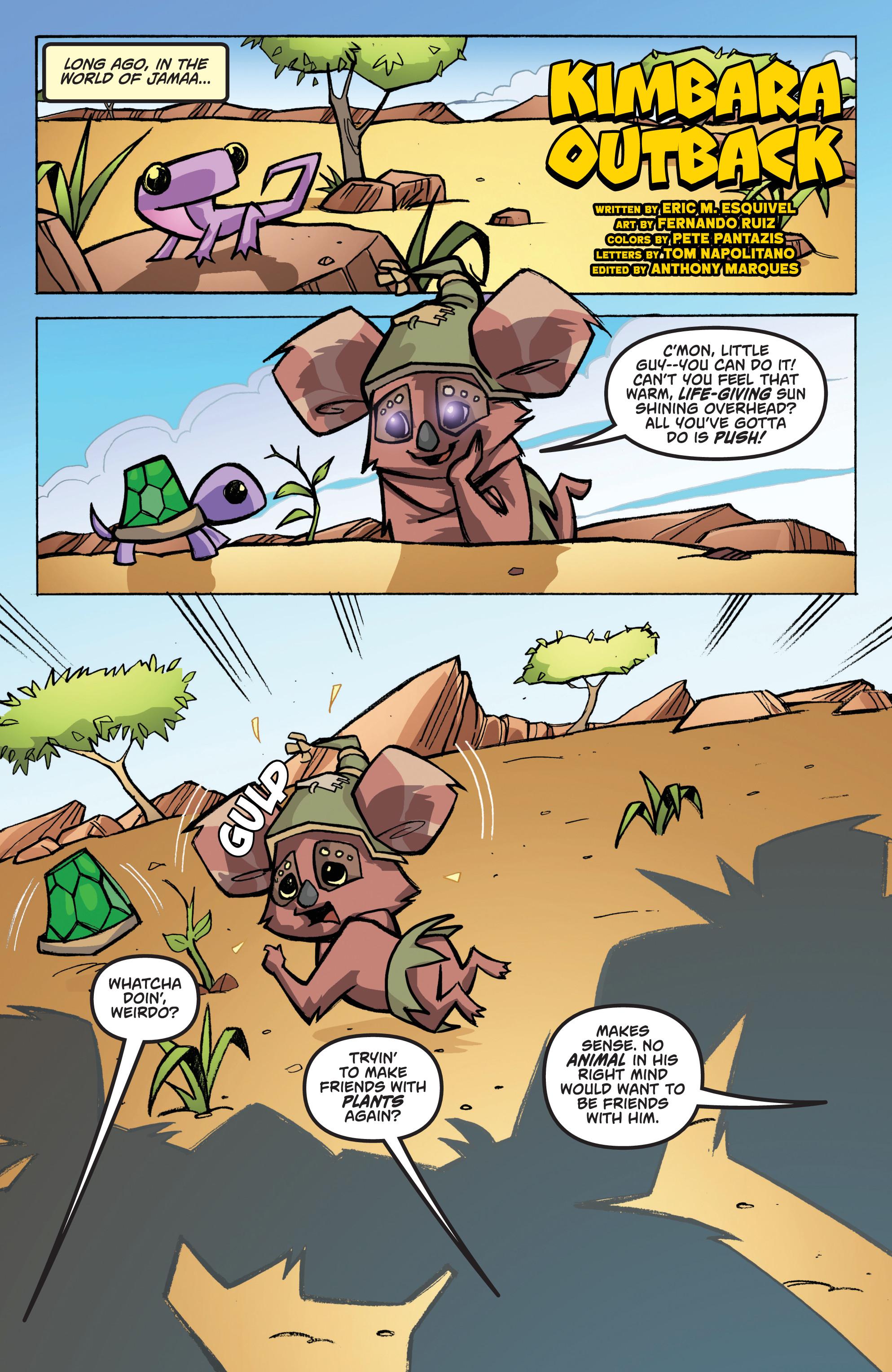 Read online Animal Jam comic -  Issue #1 - 15