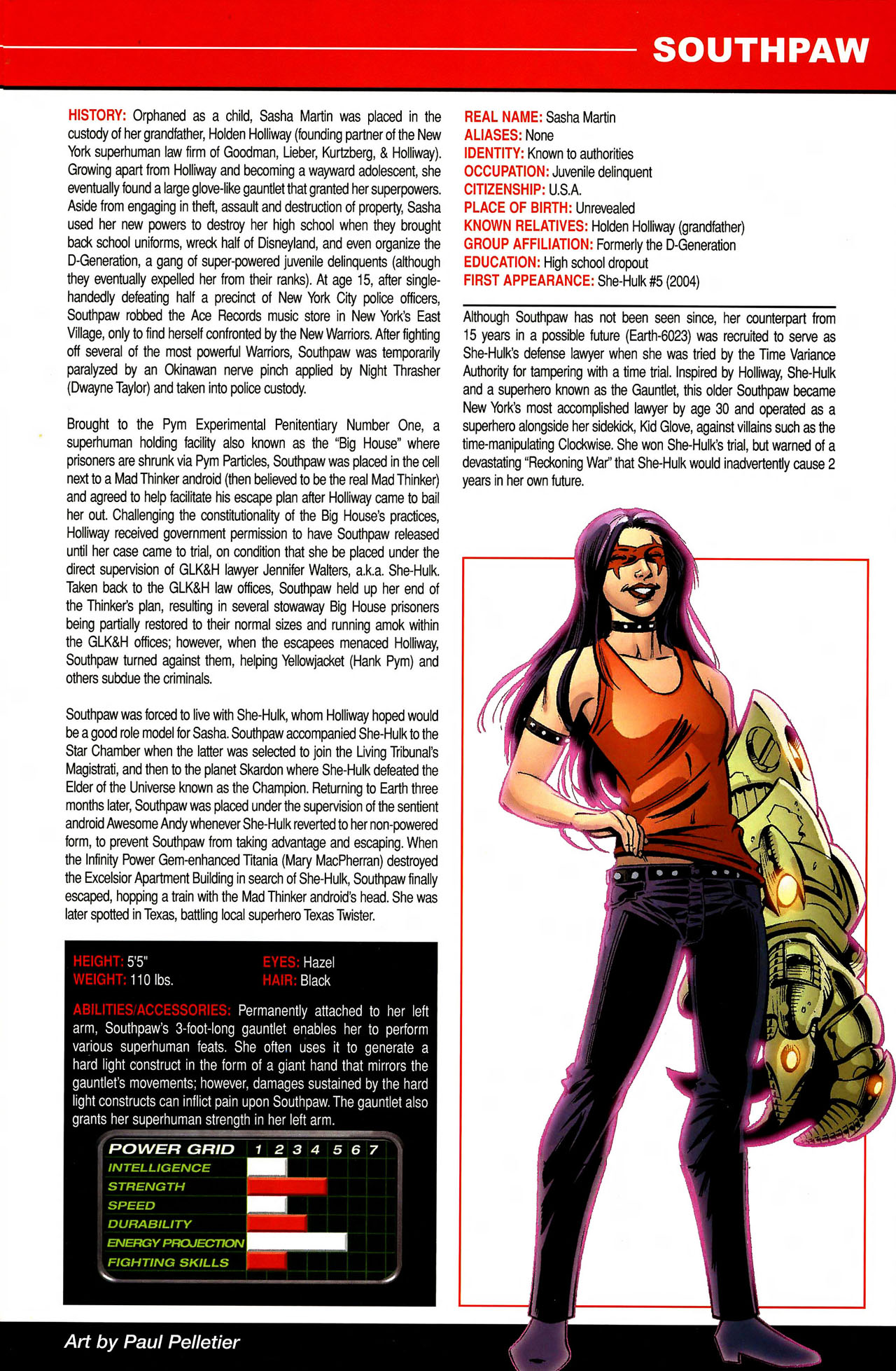 Read online All-New Official Handbook of the Marvel Universe A to Z comic -  Issue #10 - 31