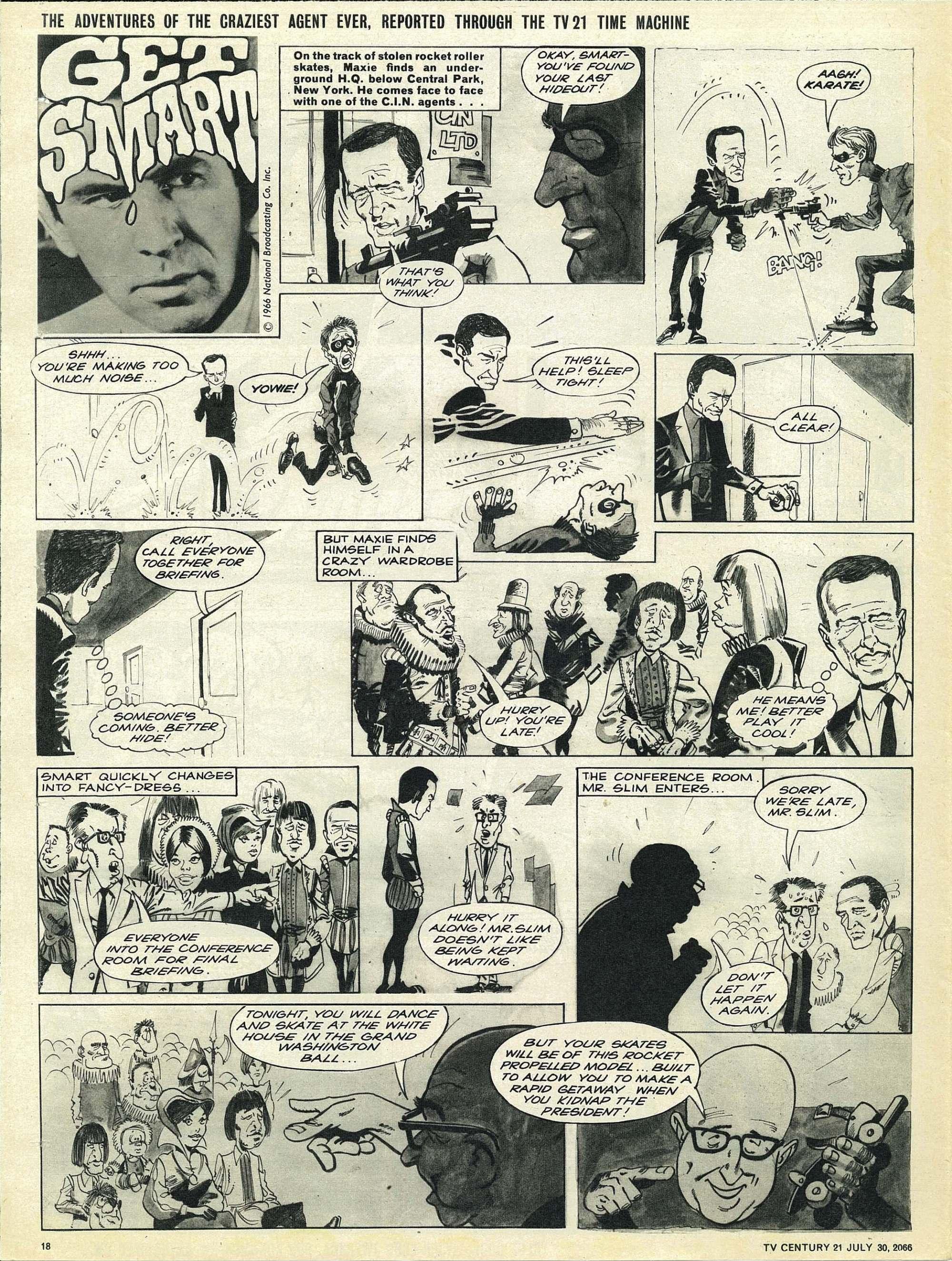 Read online TV Century 21 (TV 21) comic -  Issue #80 - 17