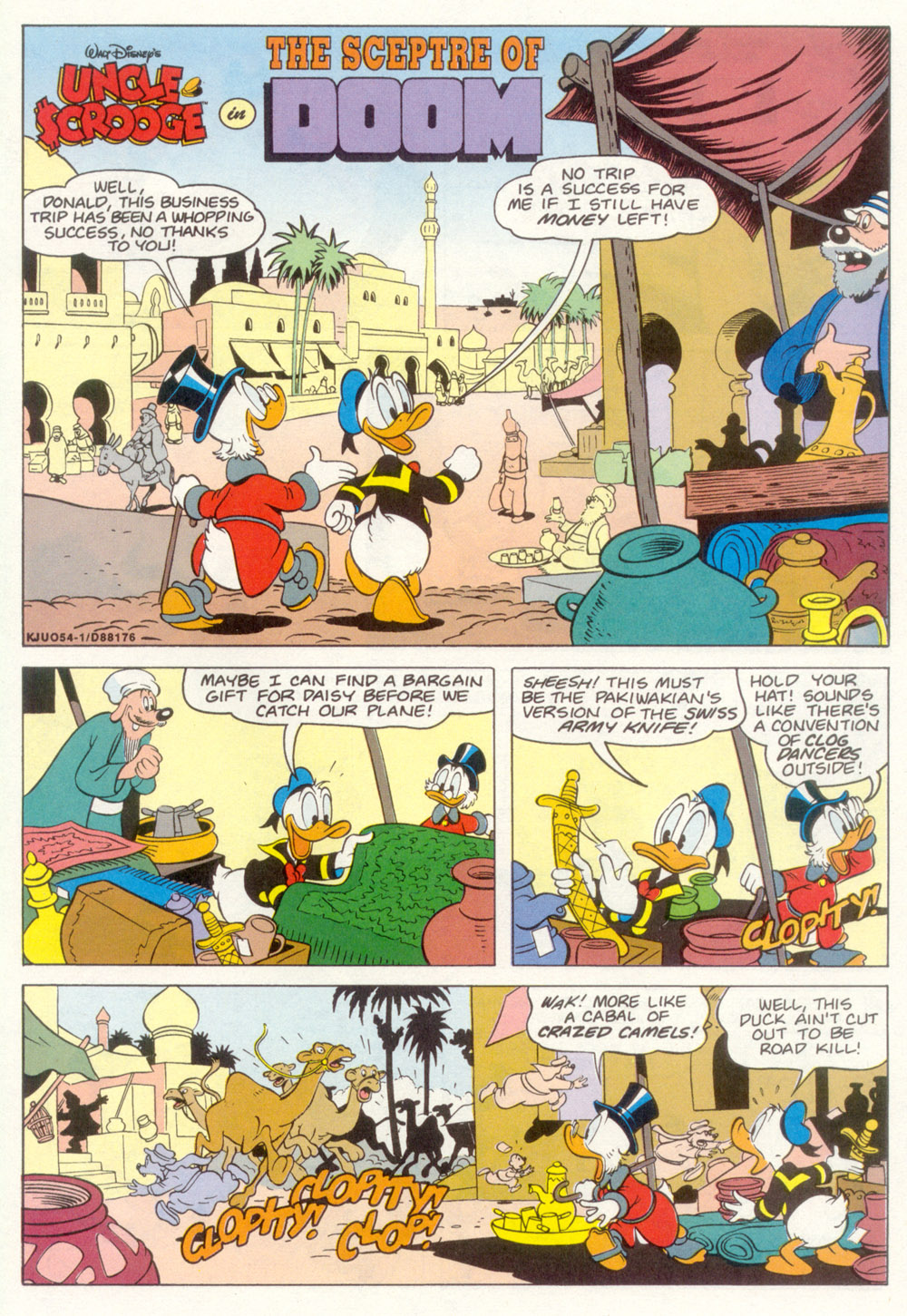 Read online Uncle Scrooge (1953) comic -  Issue #267 - 21