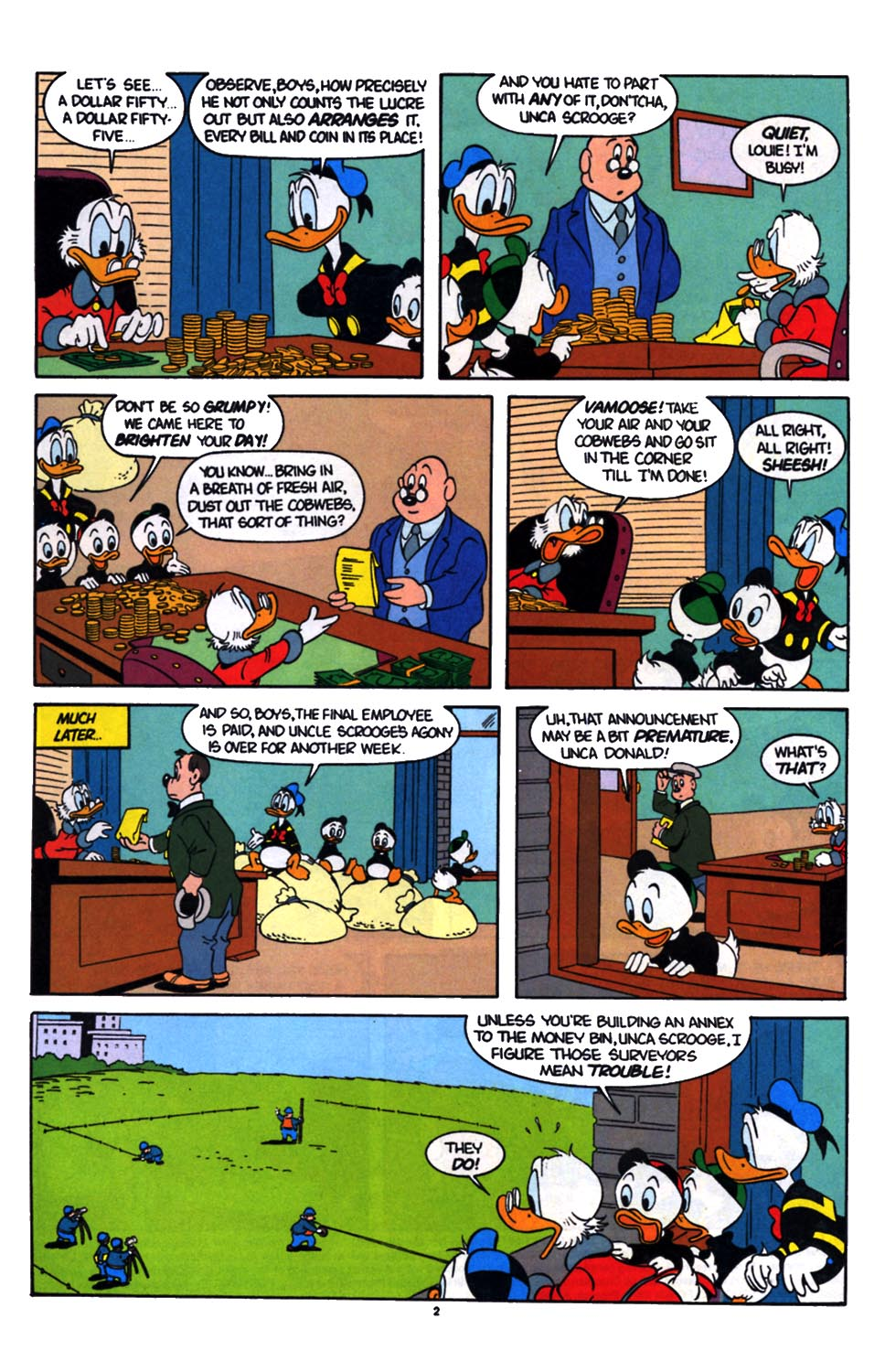 Read online Uncle Scrooge (1953) comic -  Issue #254 - 3