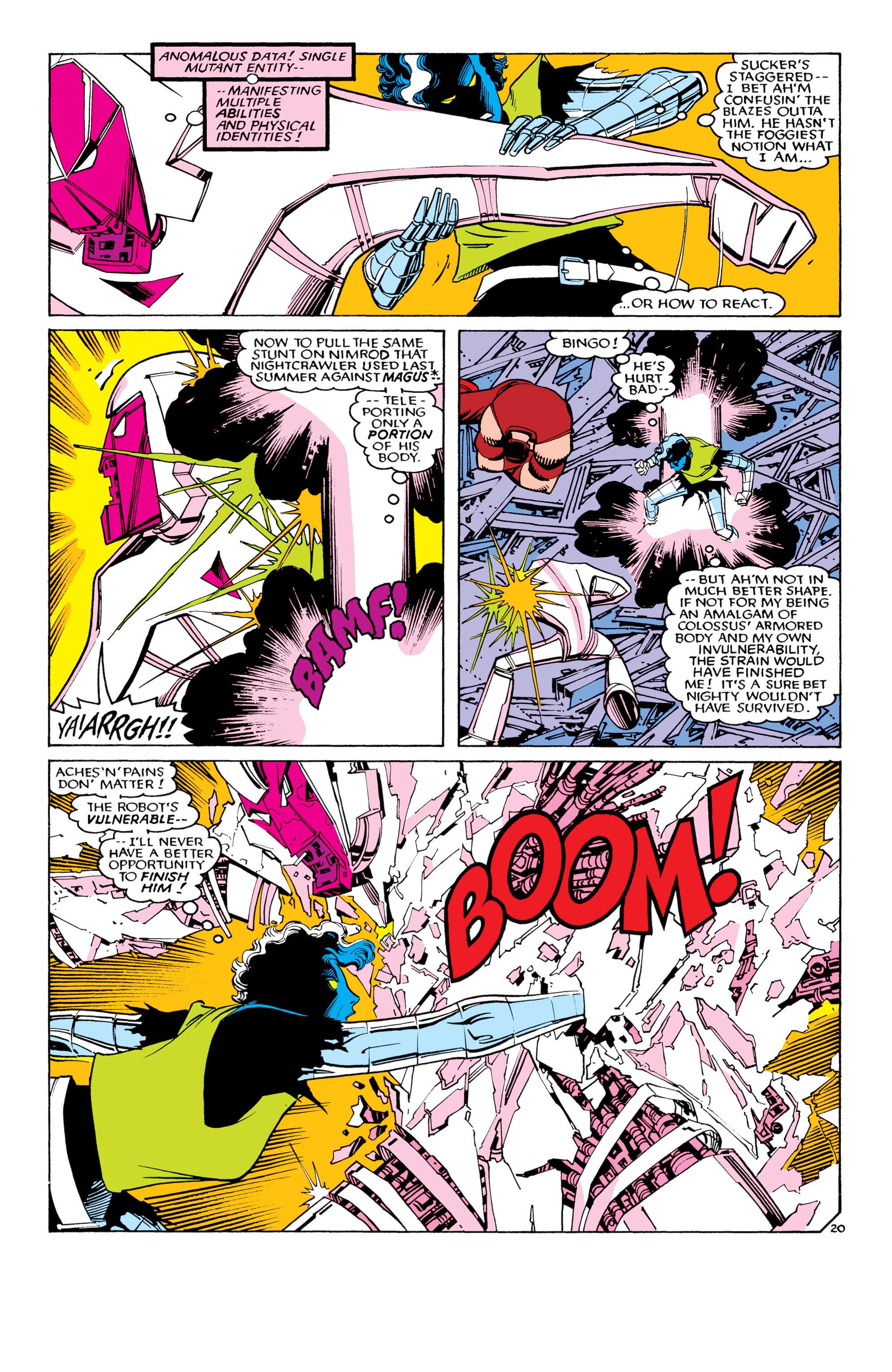 Read online Uncanny X-Men (1963) comic -  Issue #194 - 21