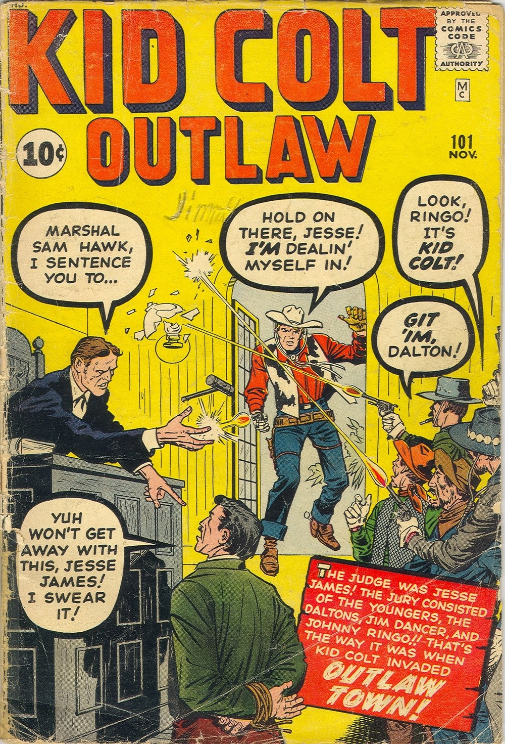 Kid Colt Outlaw issue 101 - Page 1
