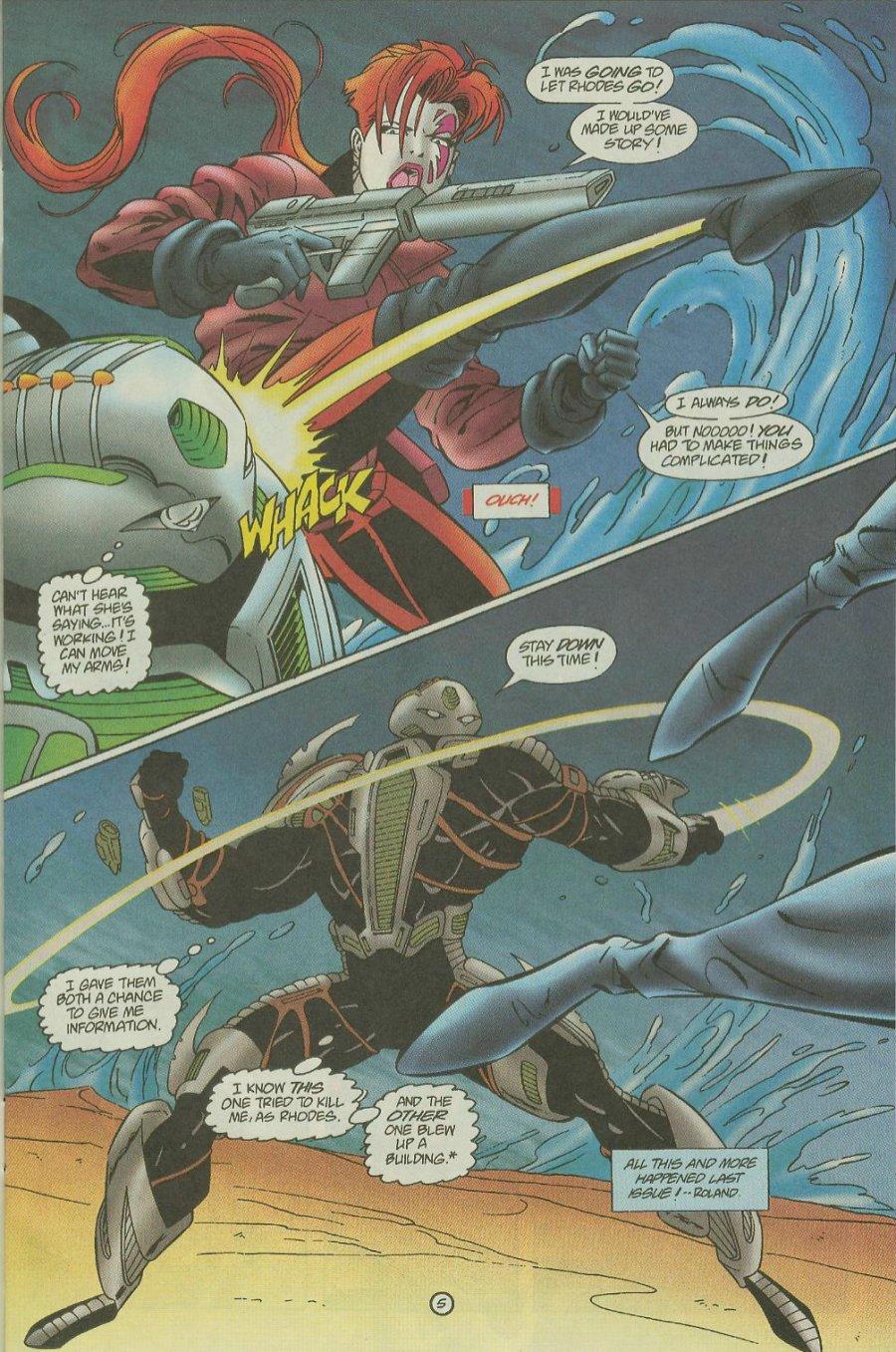 Read online Siren comic -  Issue #2 - 7