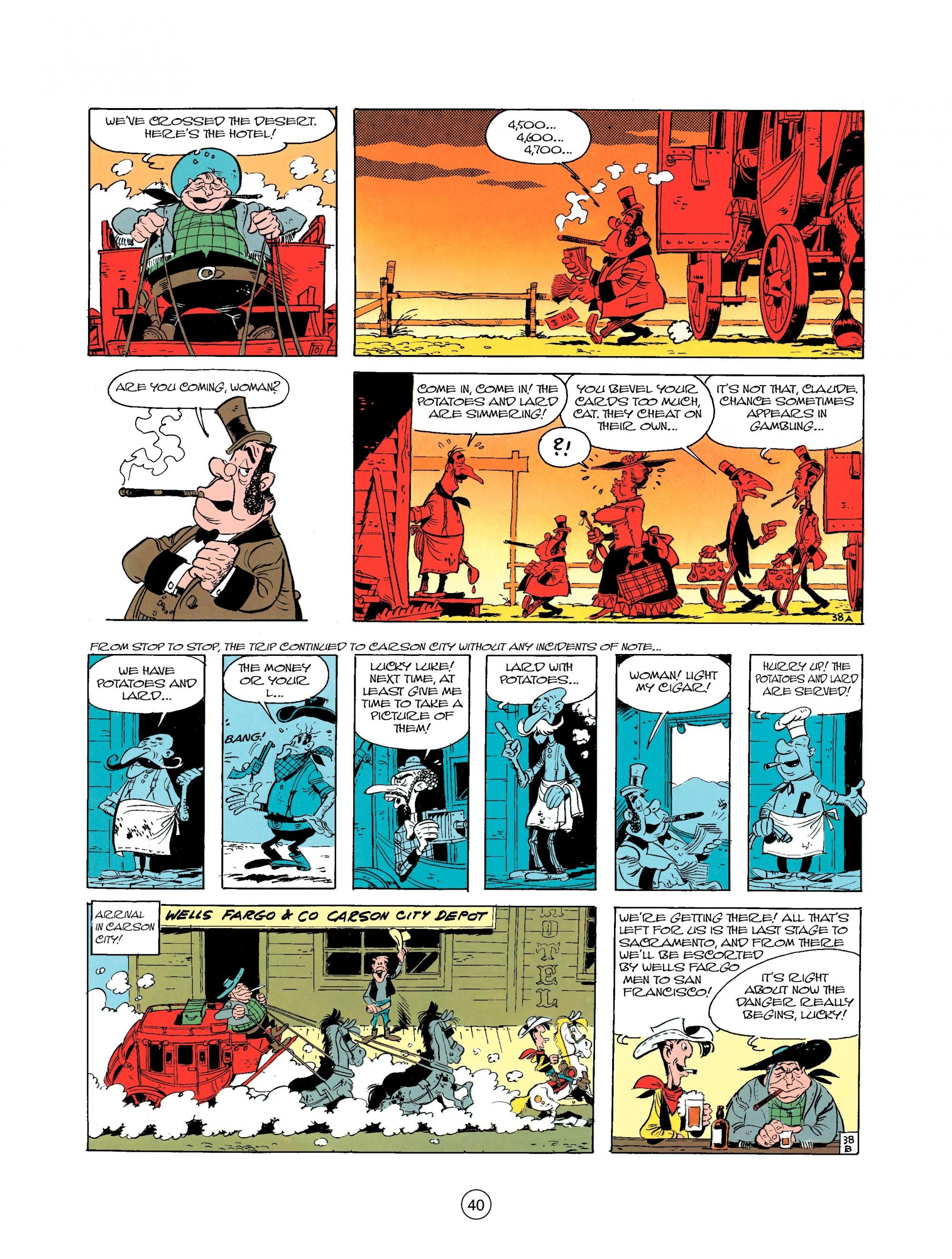Read online A Lucky Luke Adventure comic -  Issue #25 - 40