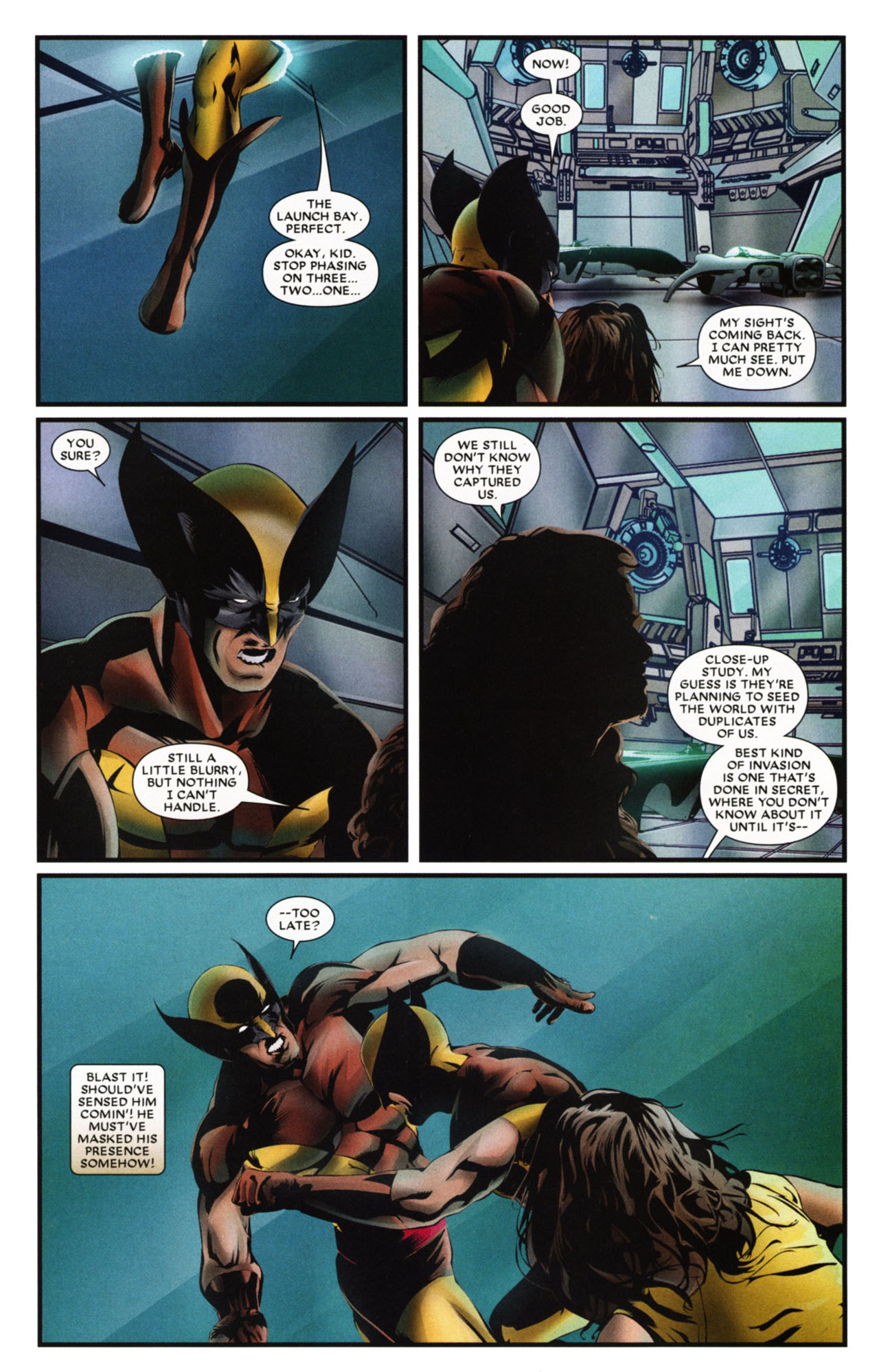 Read online Wolverine: First Class comic -  Issue #20 - 16