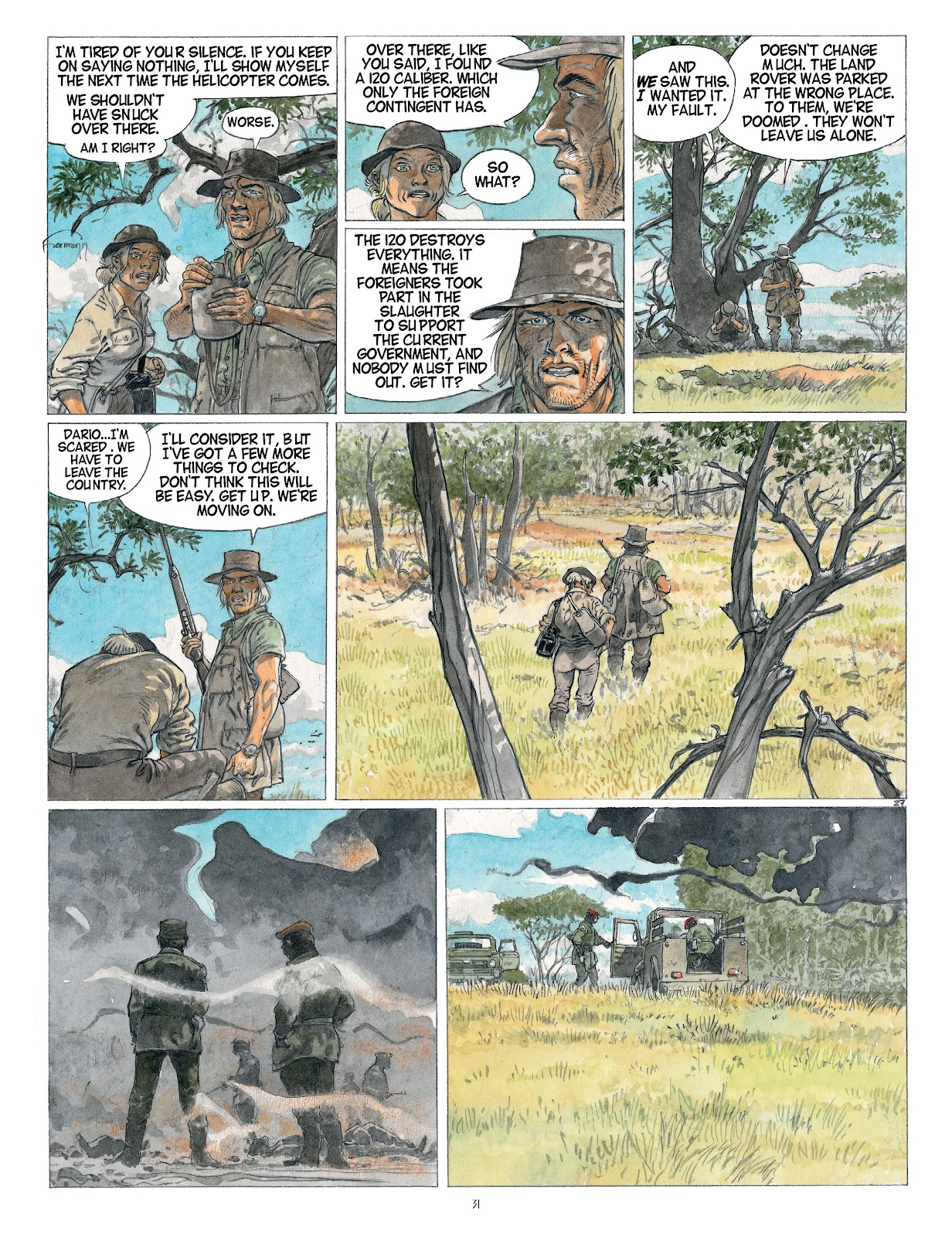 Read online Afrika comic -  Issue # TPB - 31