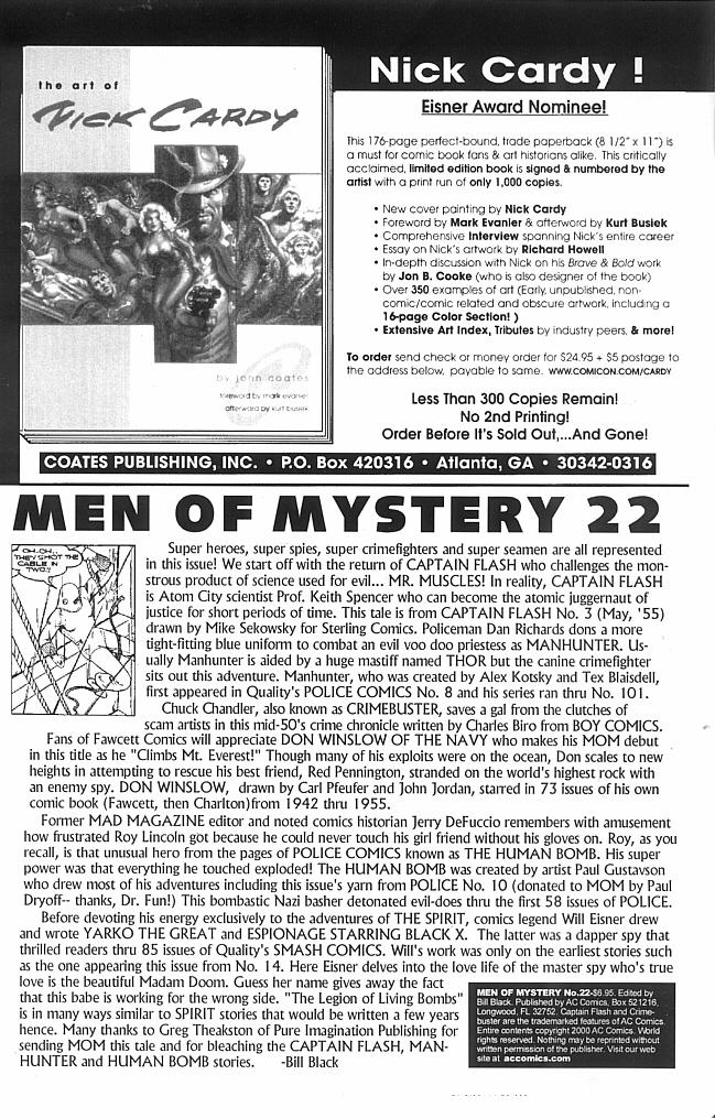 Read online Men of Mystery Comics comic -  Issue #22 - 2