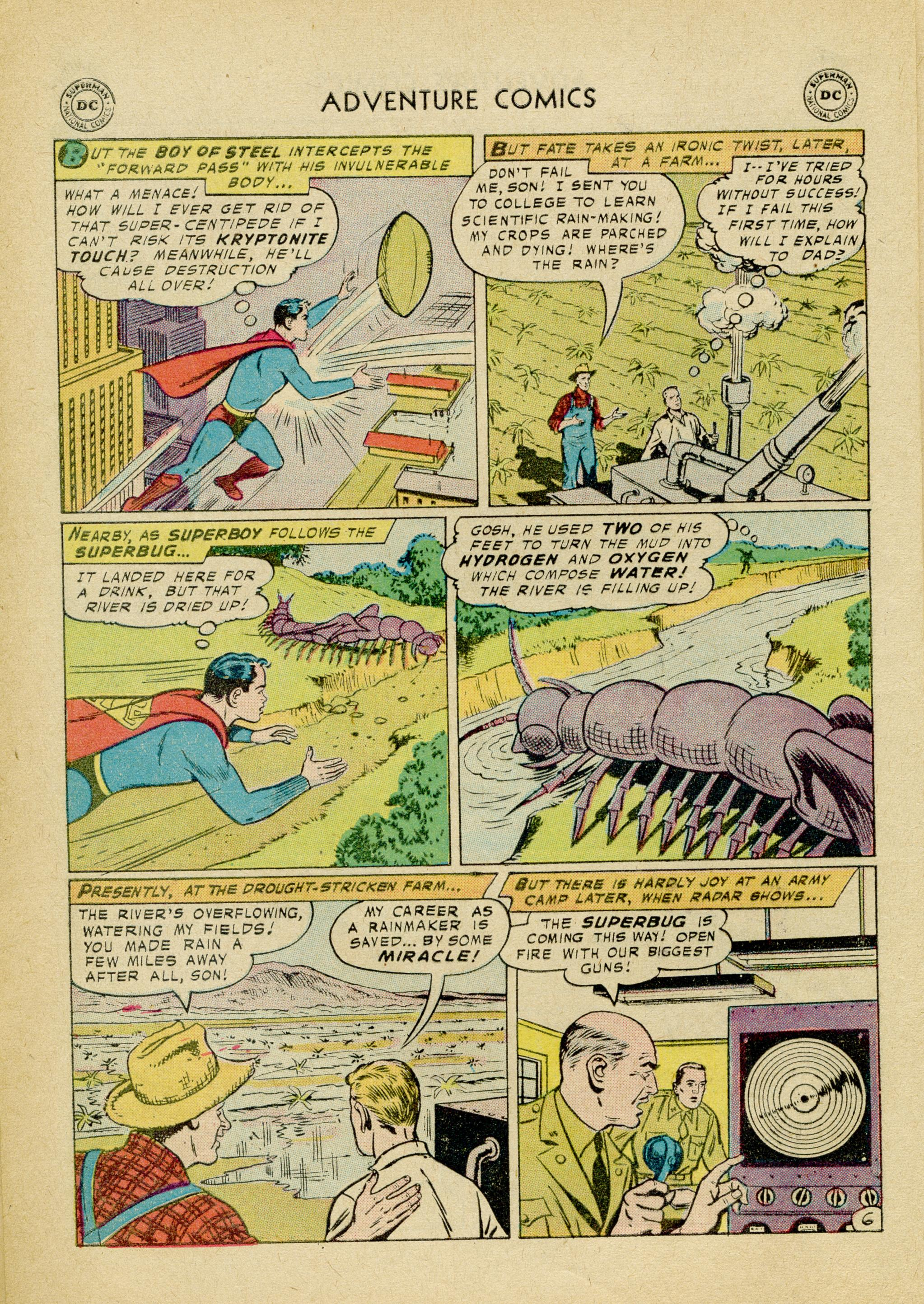Read online Adventure Comics (1938) comic -  Issue #245 - 8