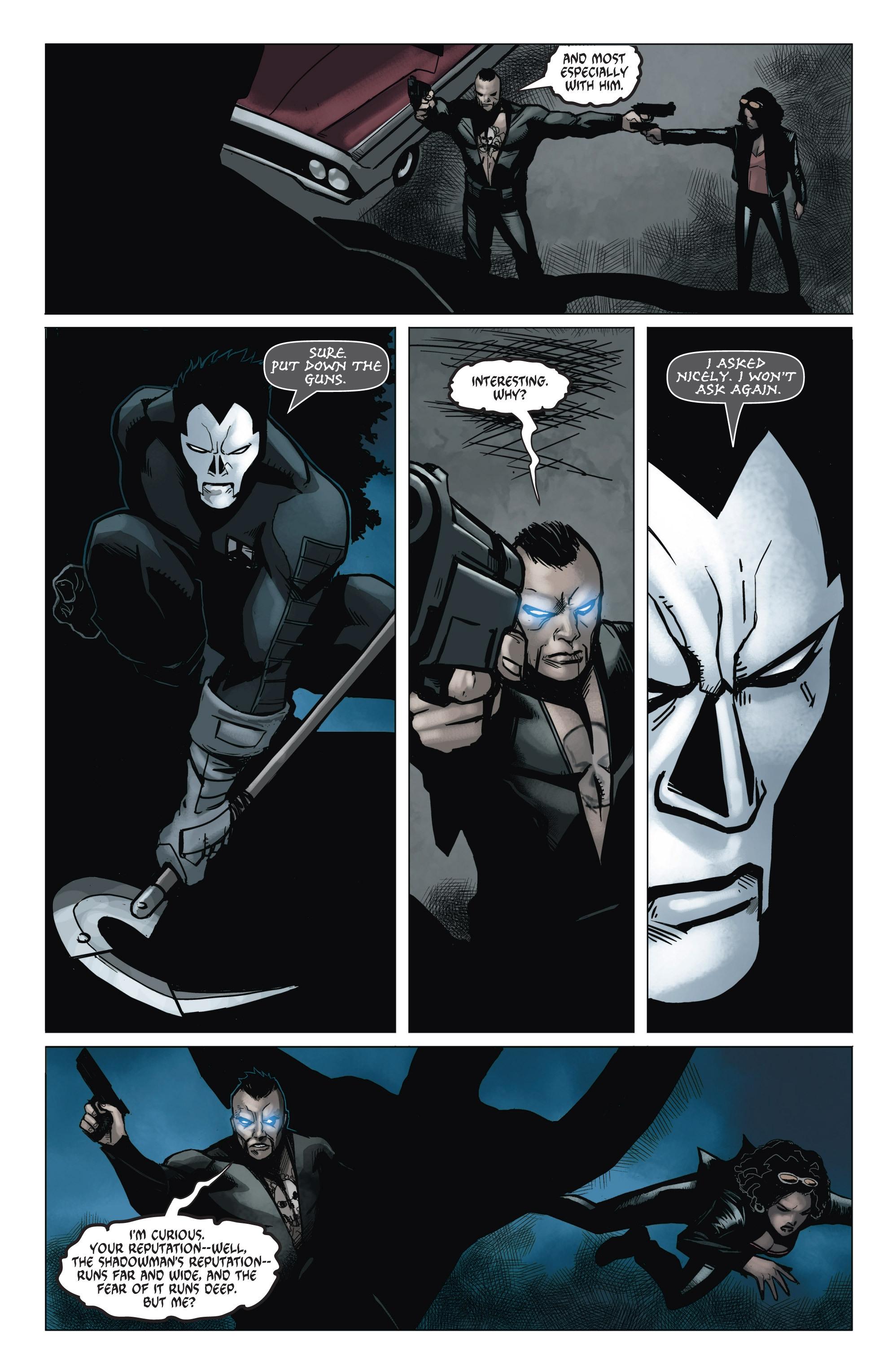 Read online Shadowman (2012) comic -  Issue #6 - 18