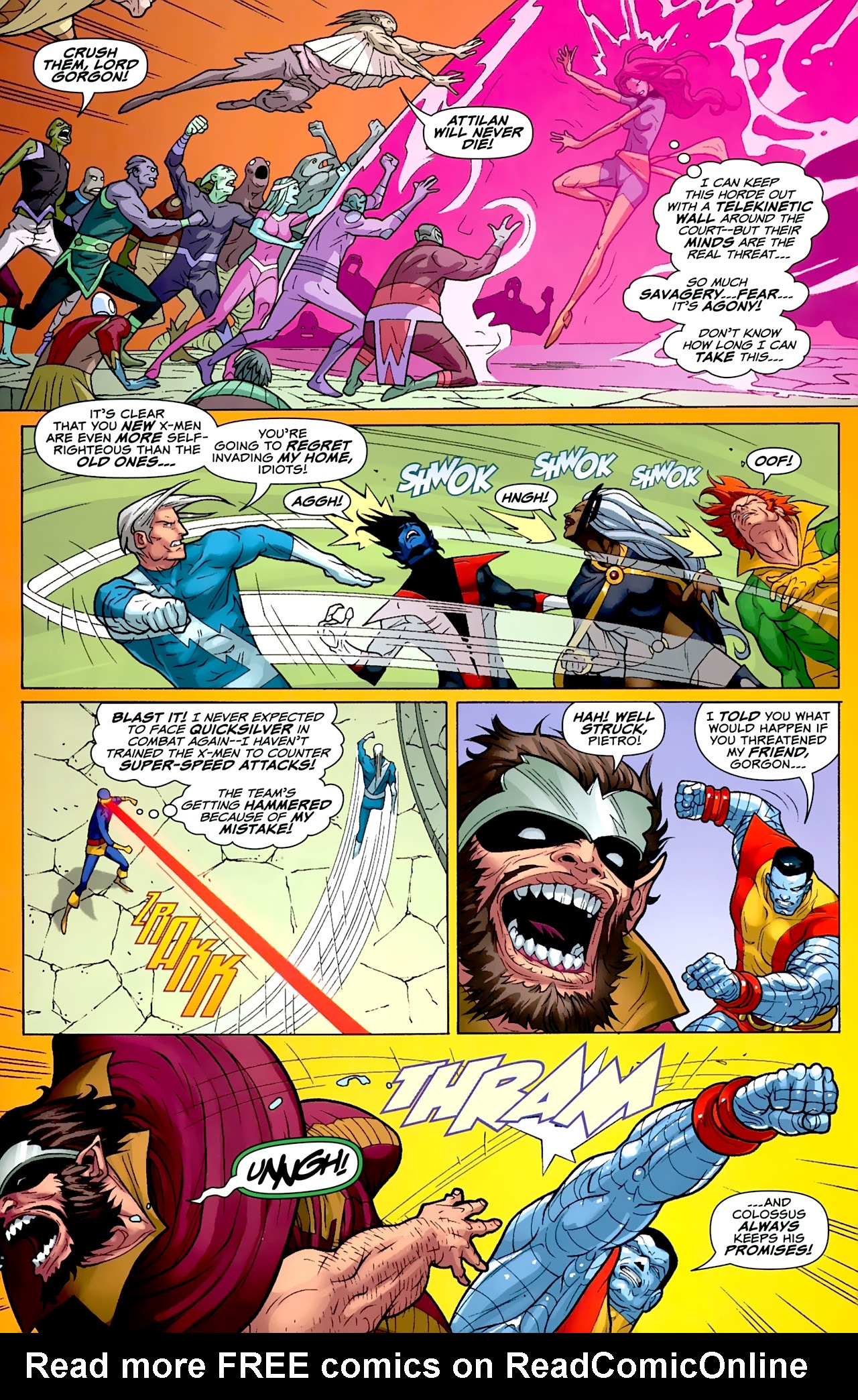 Read online Uncanny X-Men: First Class comic -  Issue #2 - 15