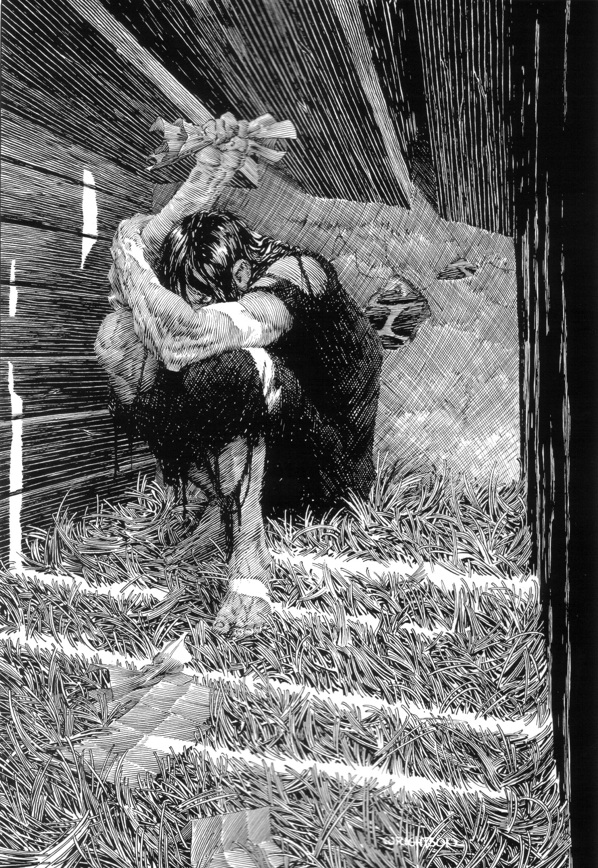 Read online Bernie Wrightson's Frankenstein comic -  Issue # Full - 28