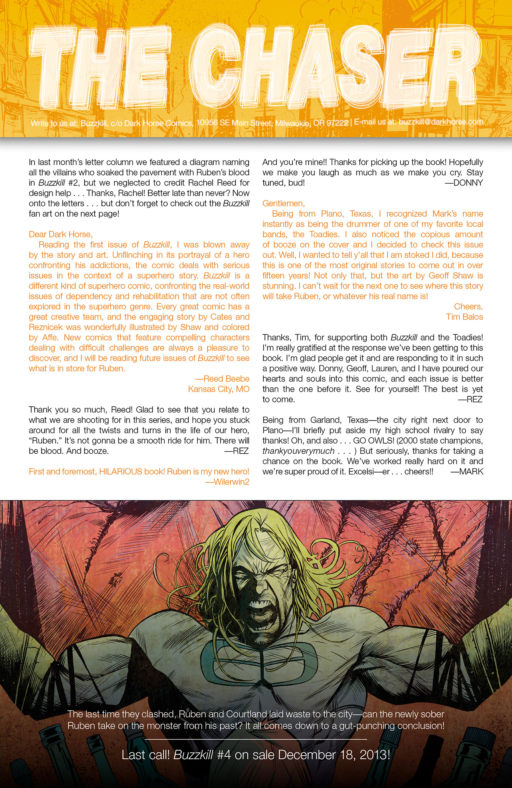 Read online Buzzkill comic -  Issue #3 - 24