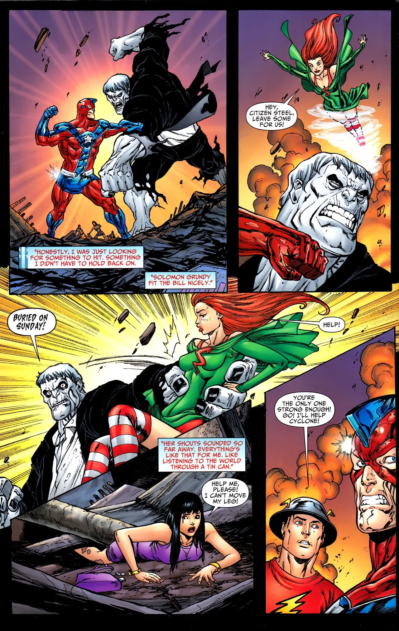 Read online JSA 80-Page Giant 2011 comic -  Issue # Full - 34