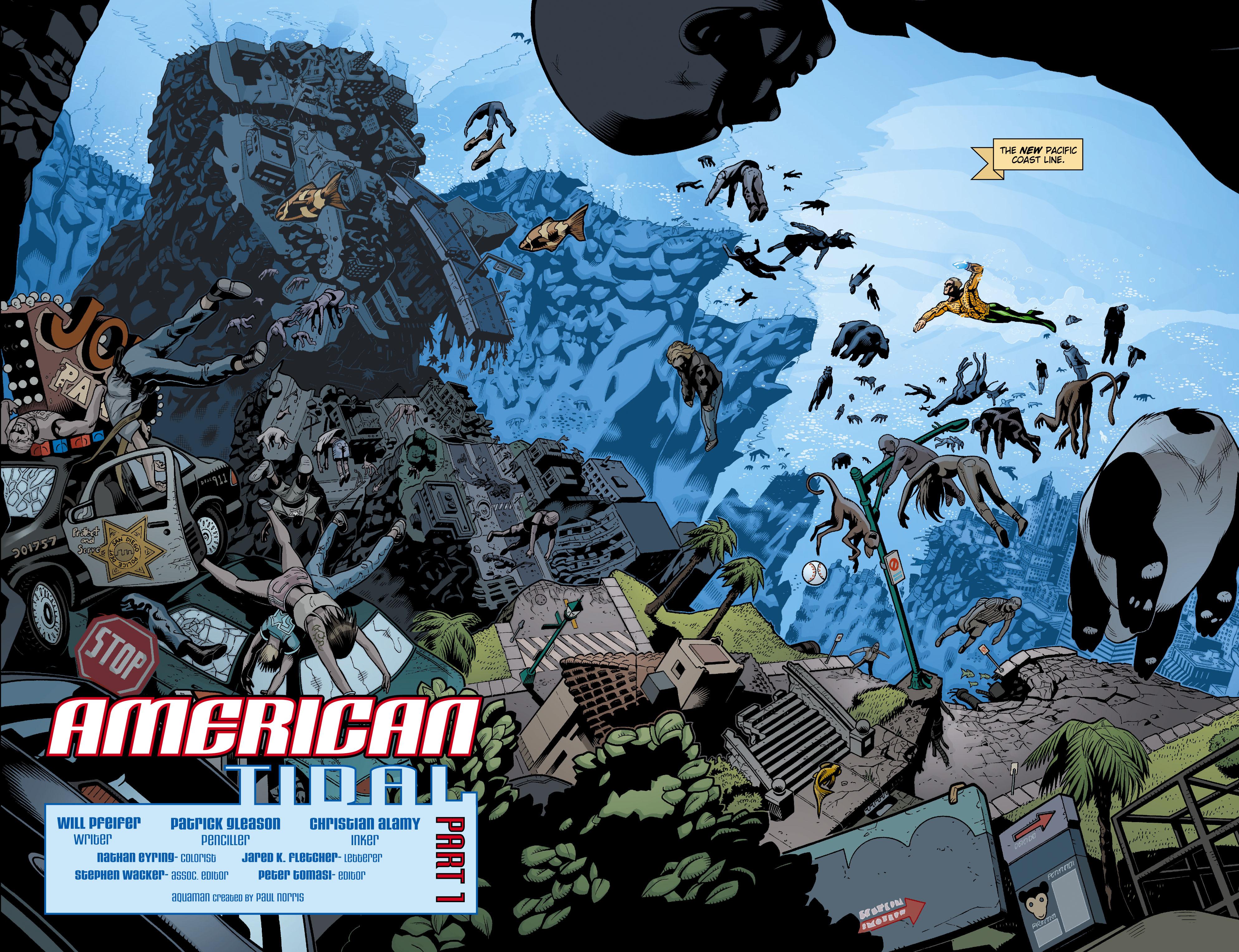 Read online Aquaman (2003) comic -  Issue #15 - 3