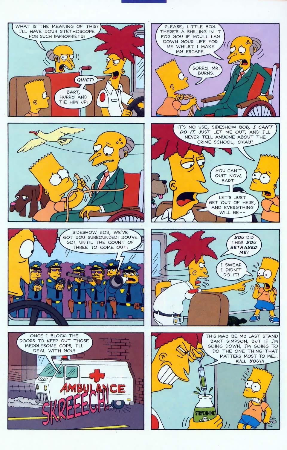 Read online Simpsons Comics comic -  Issue #46 - 20