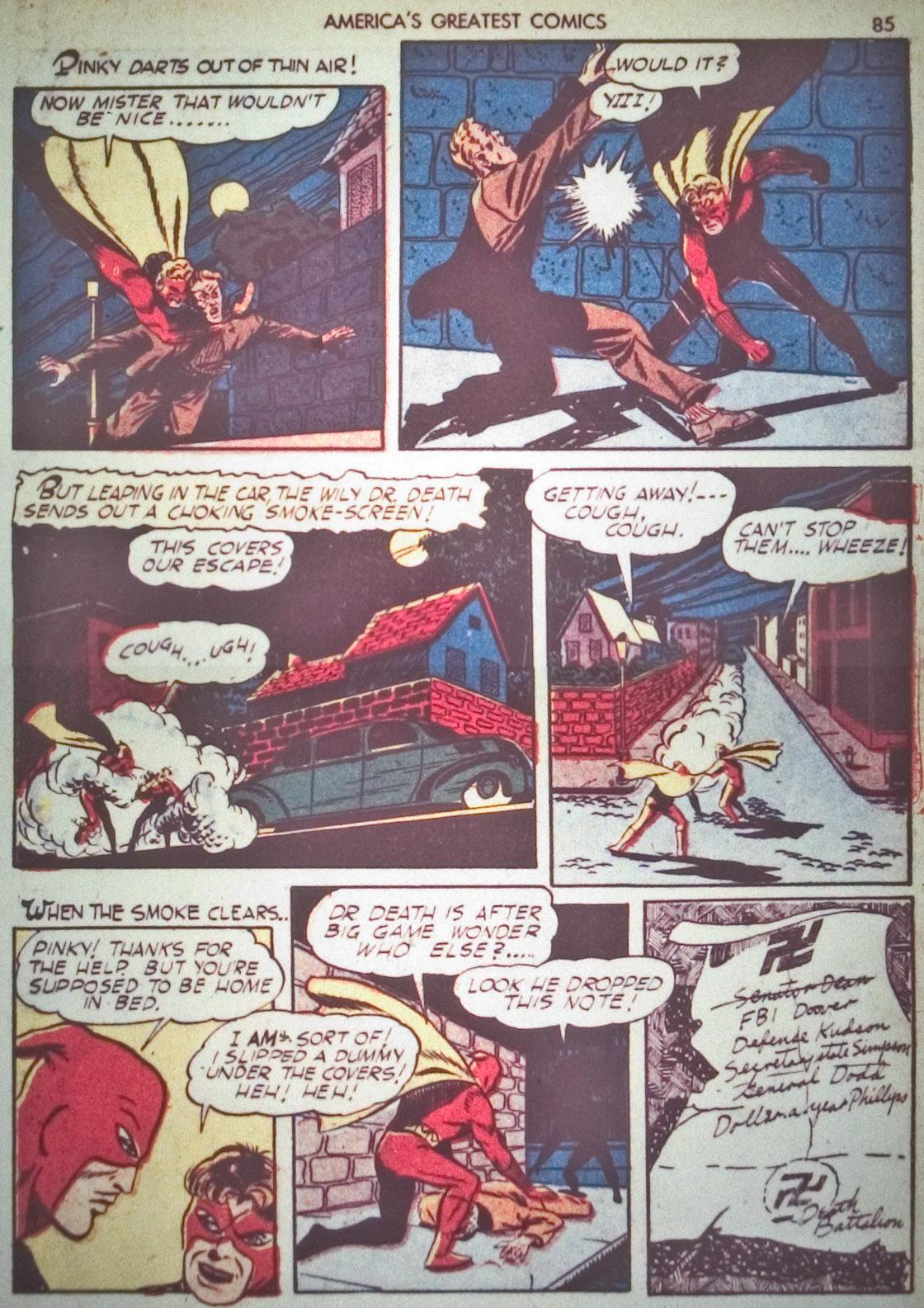 Read online America's Greatest Comics comic -  Issue #1 - 88